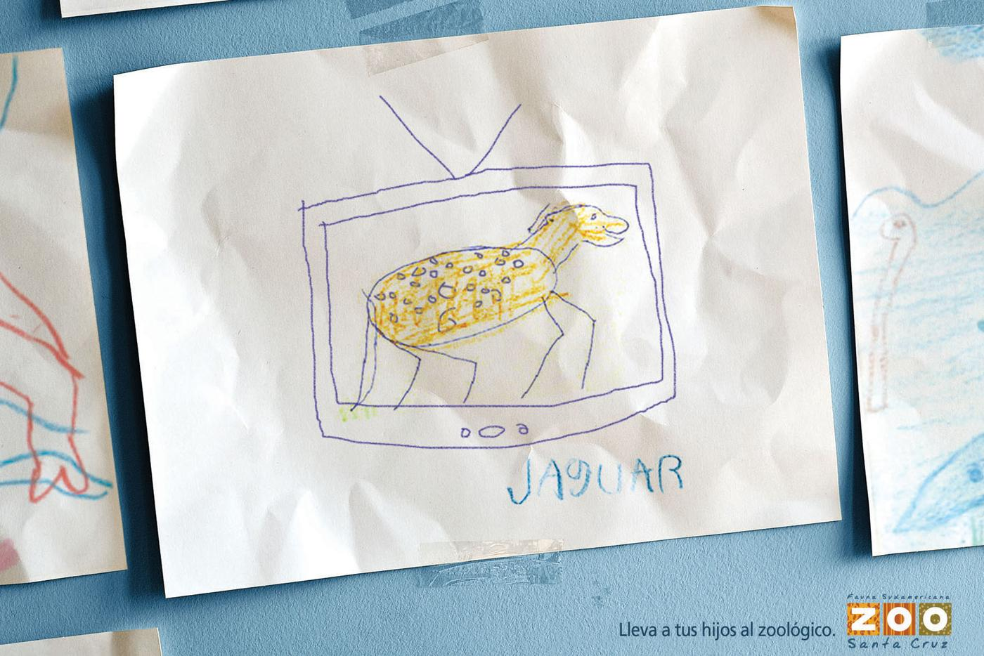 Santa Cruz Zoo Print Ad -  Jaguar