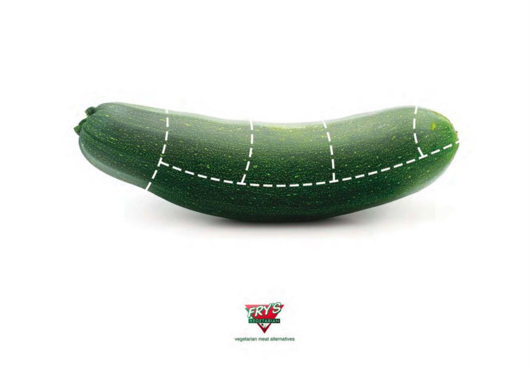 Fry's Print Ad -  Zucchini