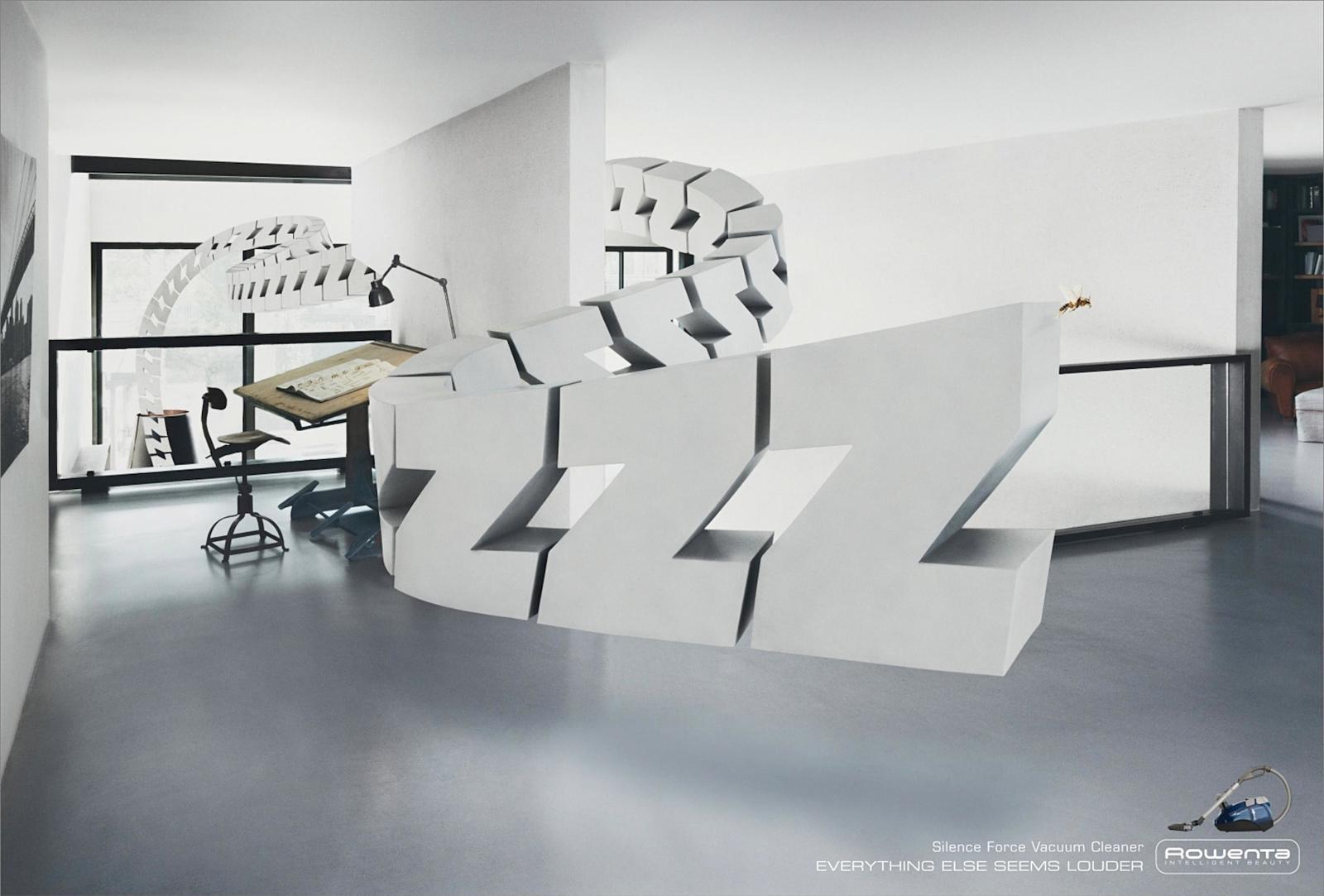 Rowenta Print Ad -  Zzzzzzz