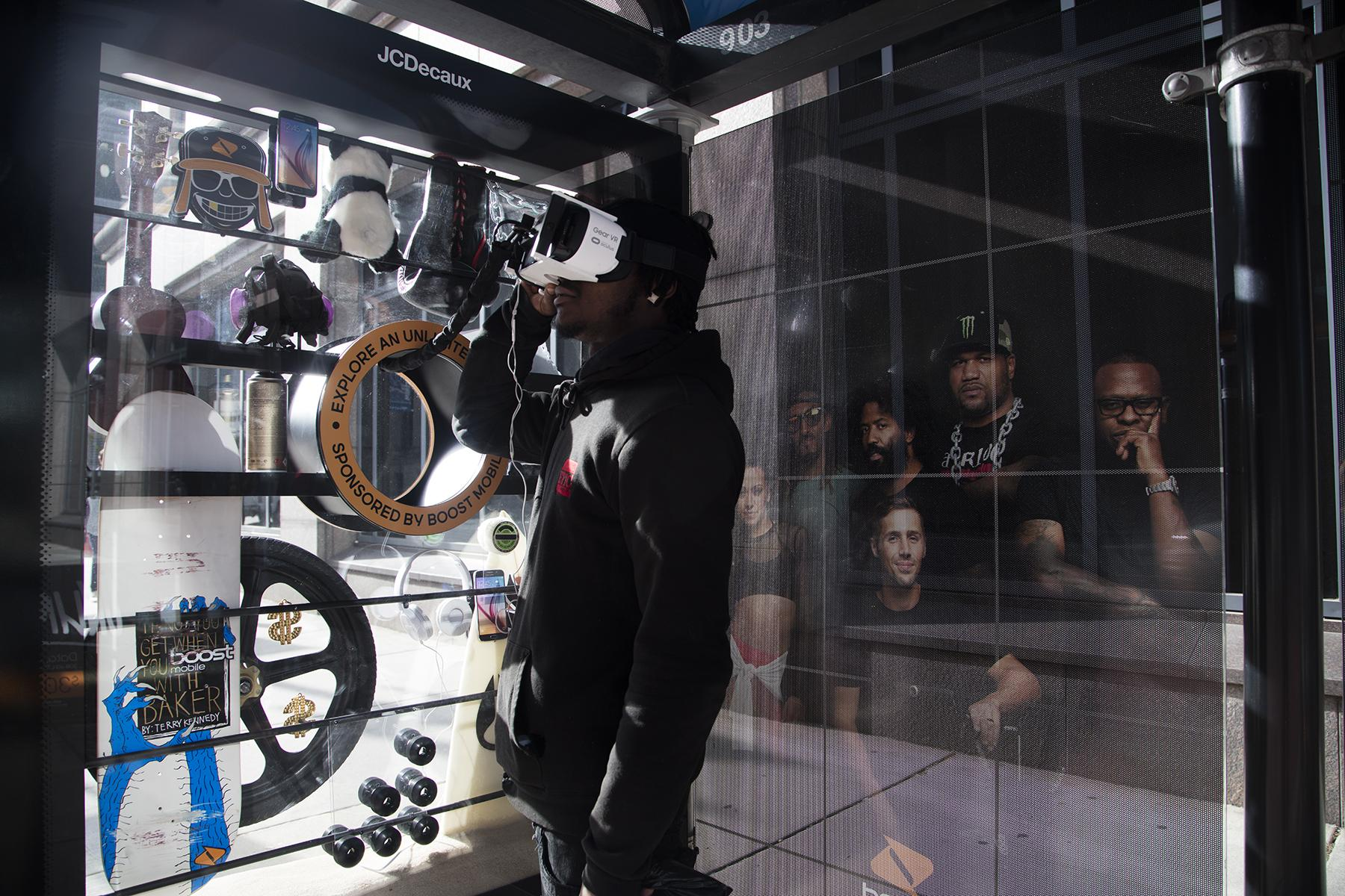Boost Mobile Experiential Ad - VR TSA