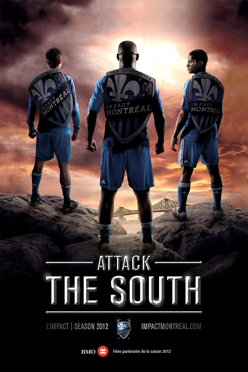 Impact Print Ad -  Attack the South