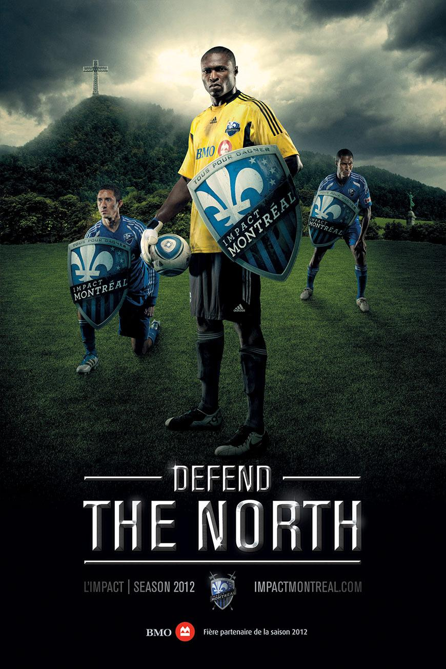 Impact Print Ad -  Defend the North