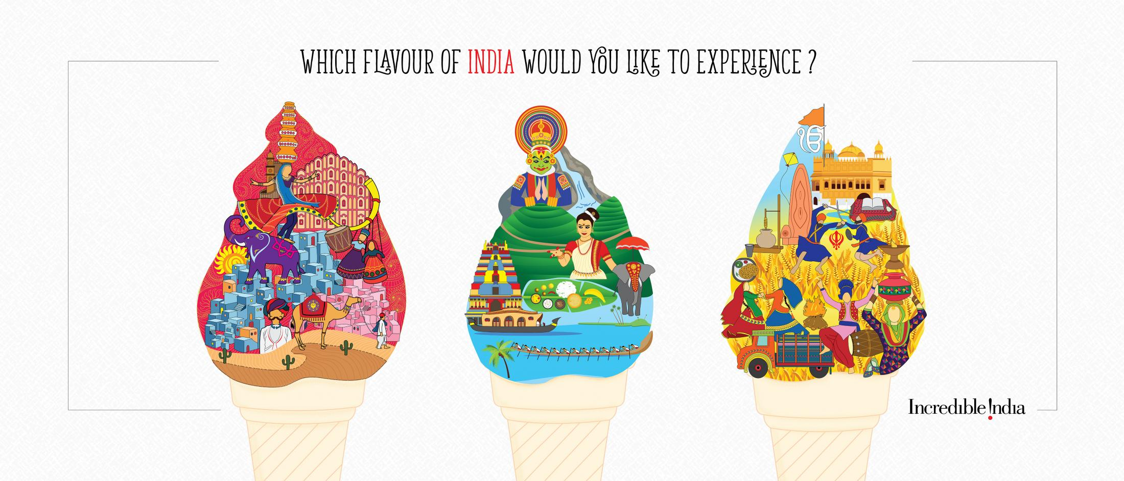 Incredible India Print Ad - Flavours of India