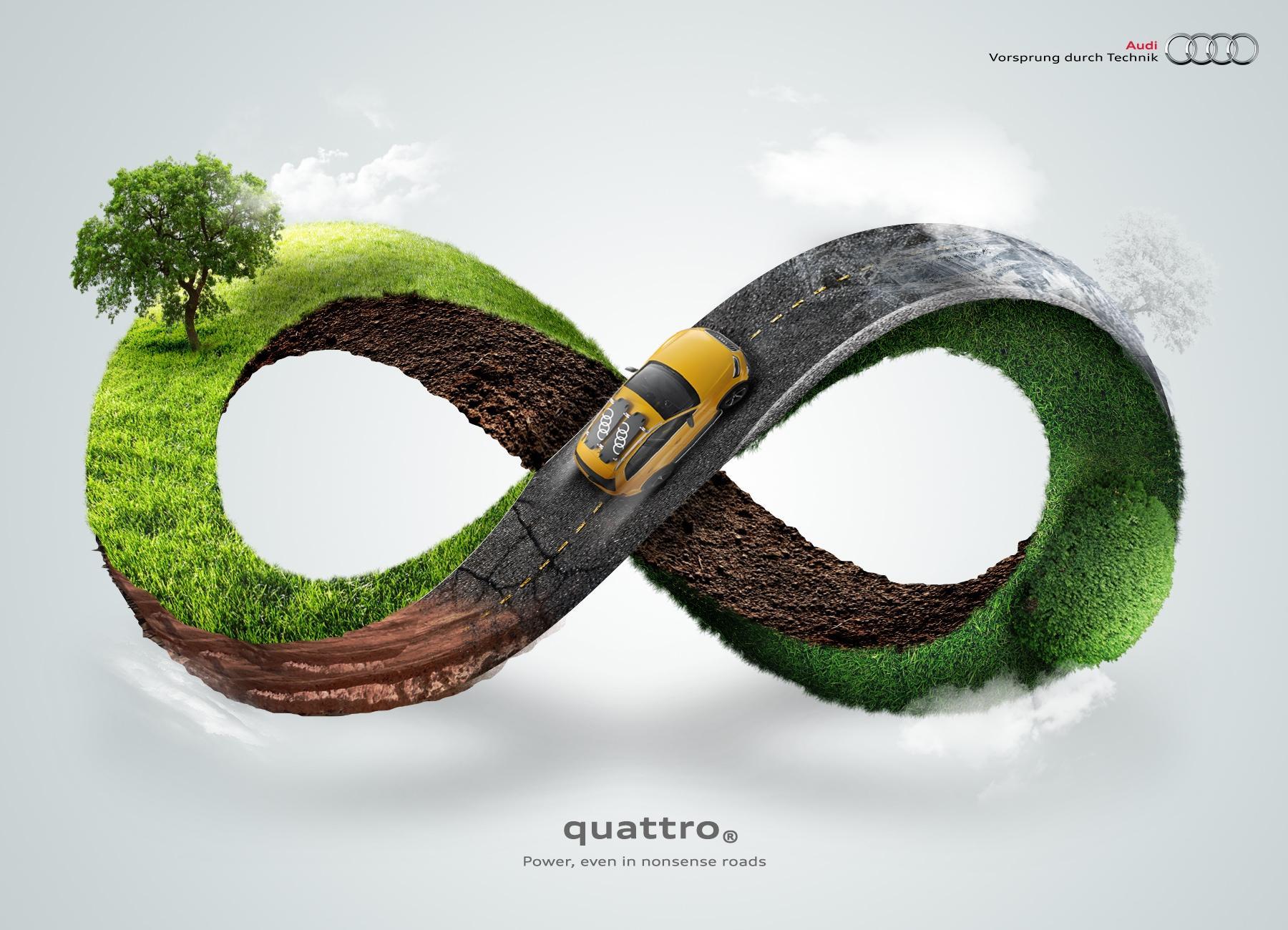 Audi Print Ad -  Infinity