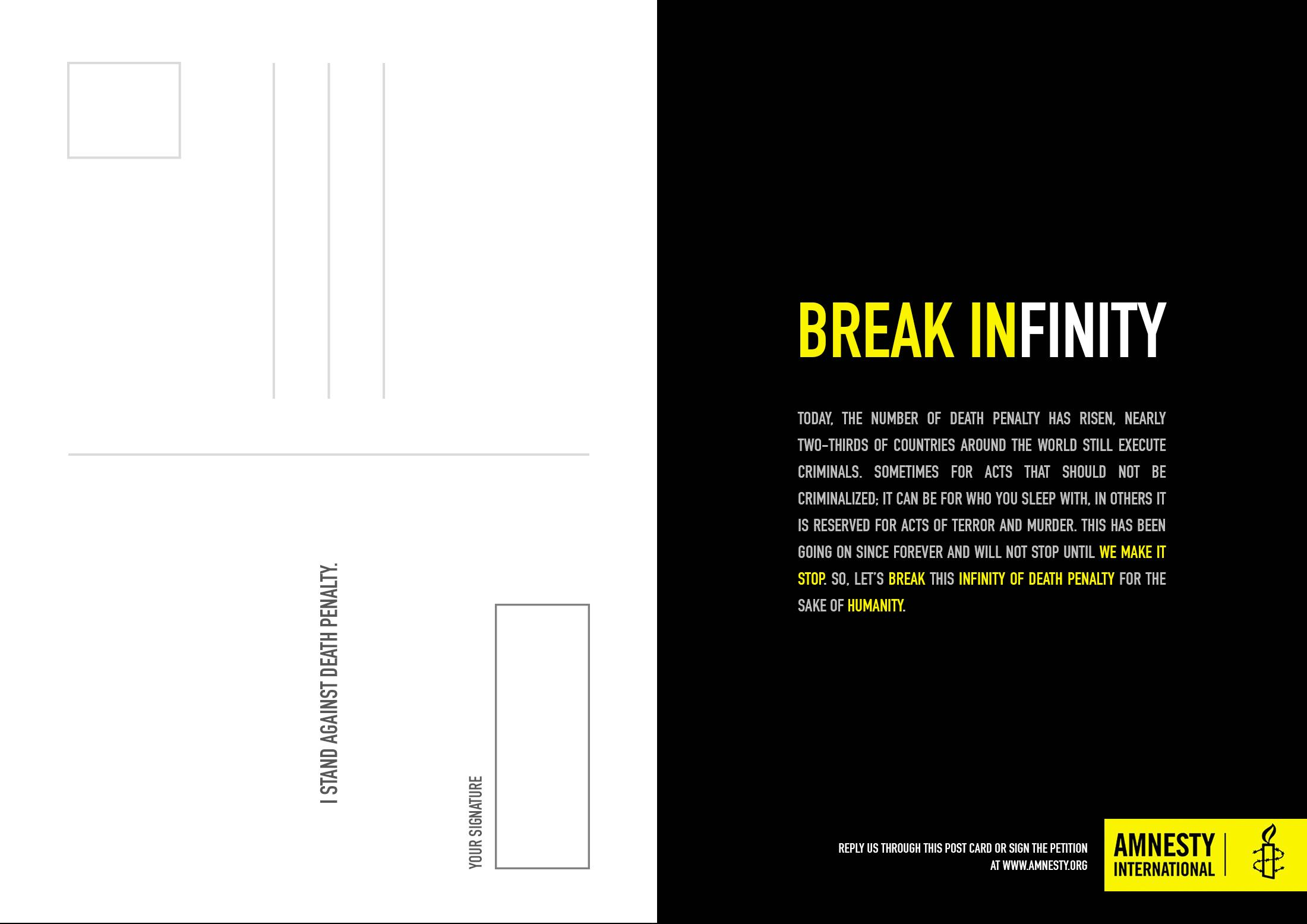 Amnesty International Direct Ad - Infinity Rope