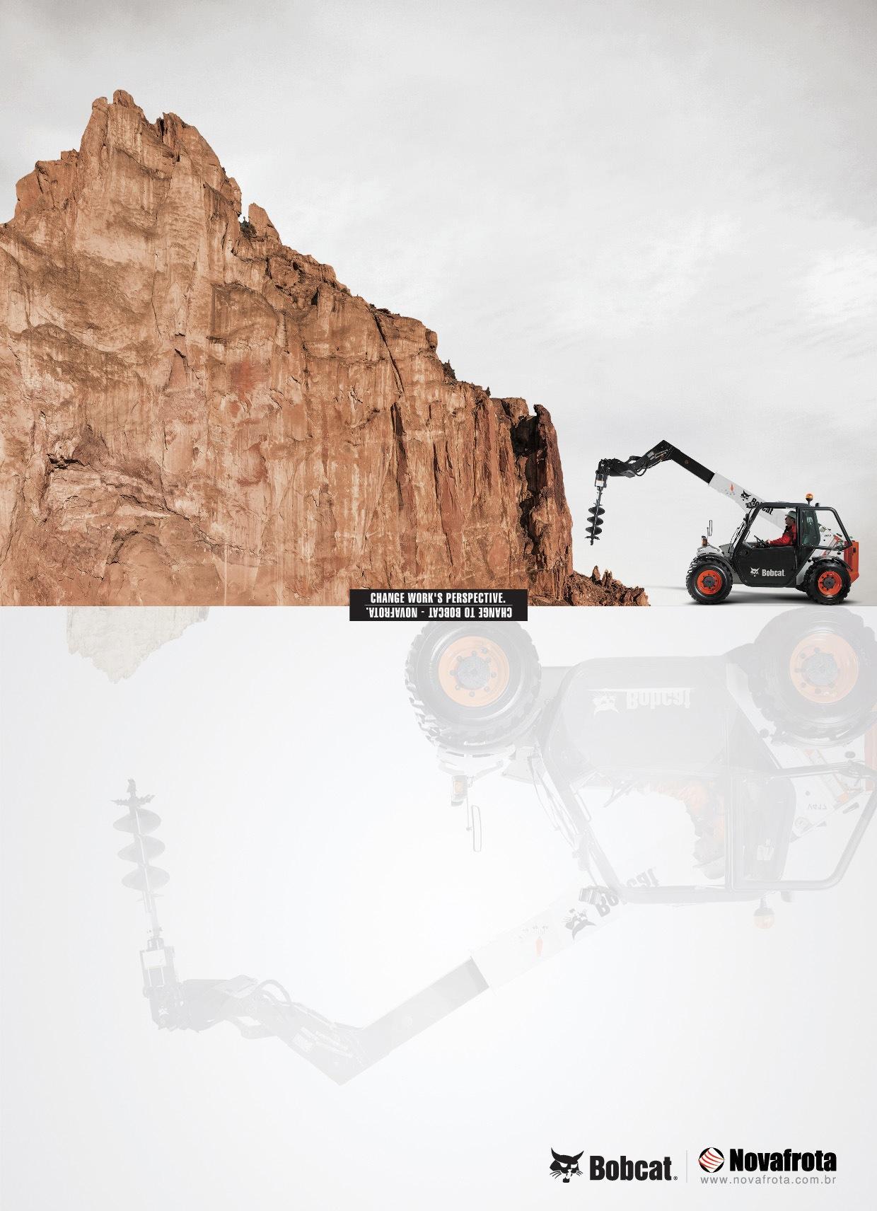 Bobcat Print Ad -  Perspective, 3