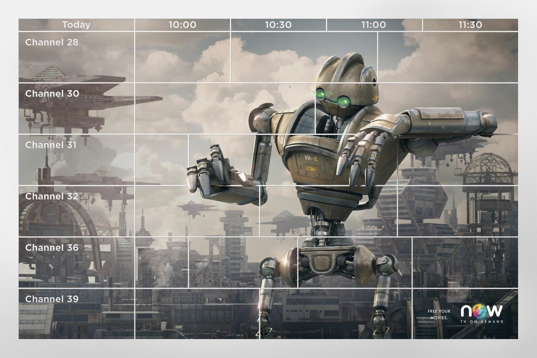 Now Print Ad -  Robot