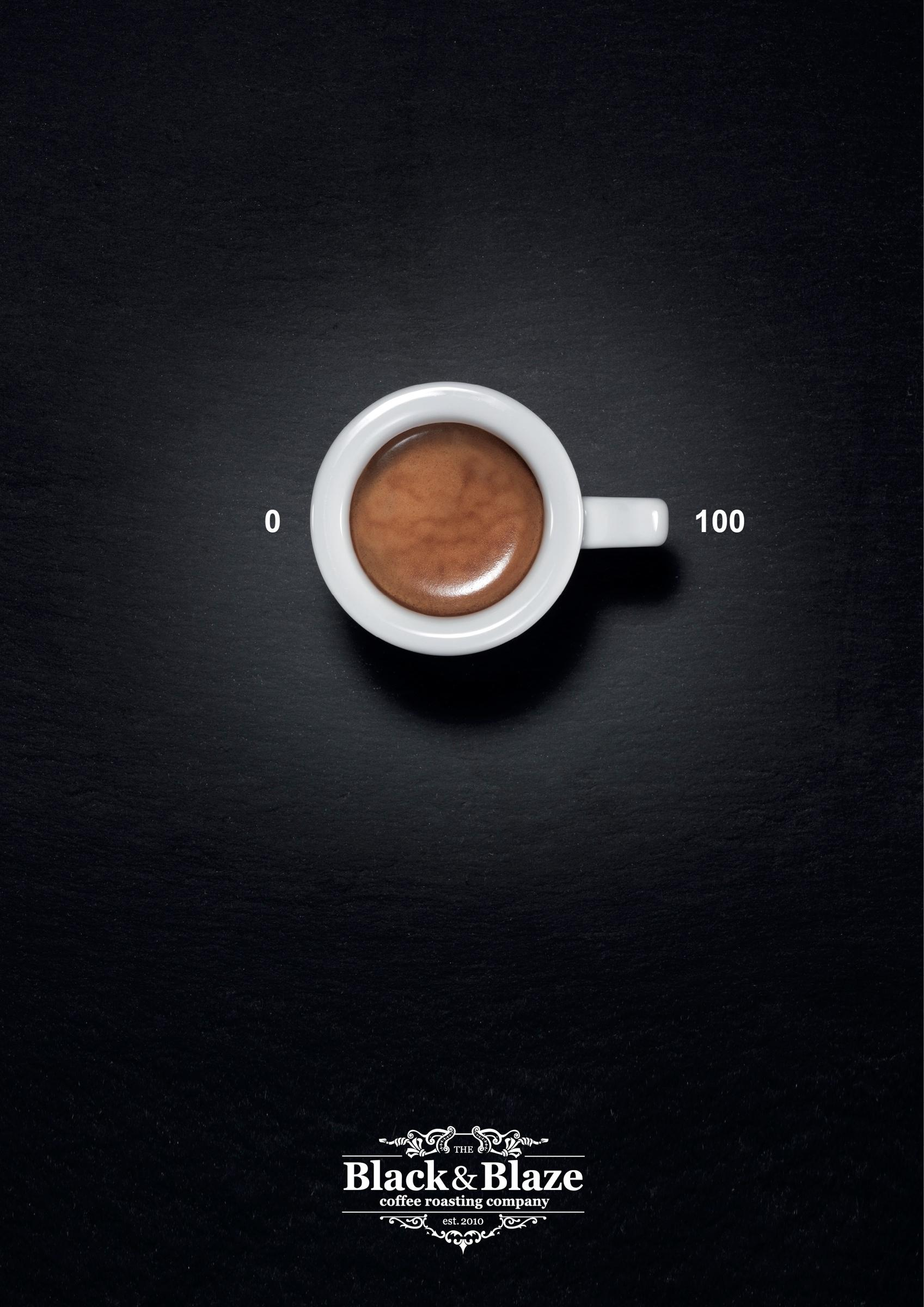 Black&Blaze Print Ad -  Coffee turns you, 4