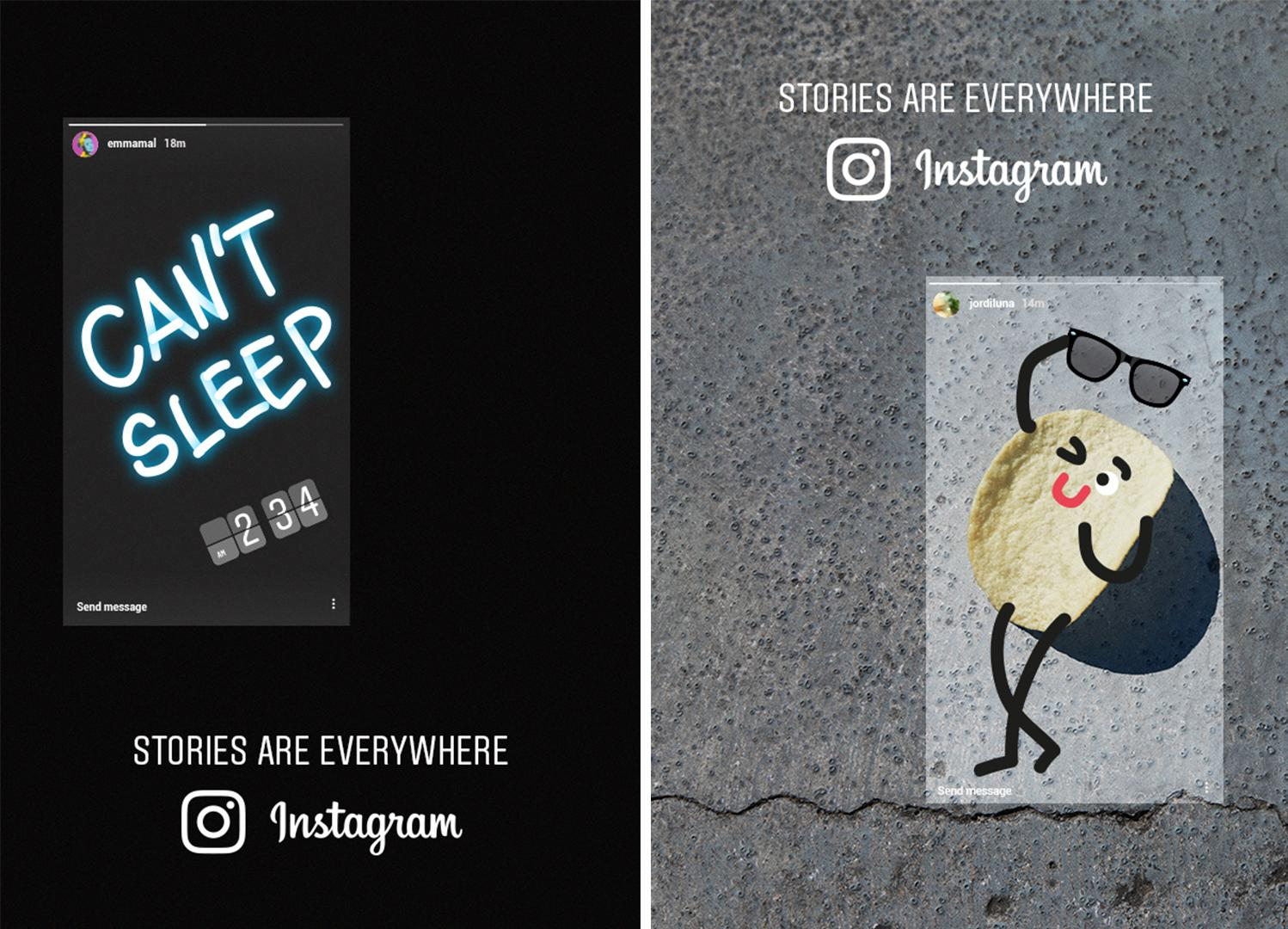 Instagram Integrated Ad - Stories Are Everywhere