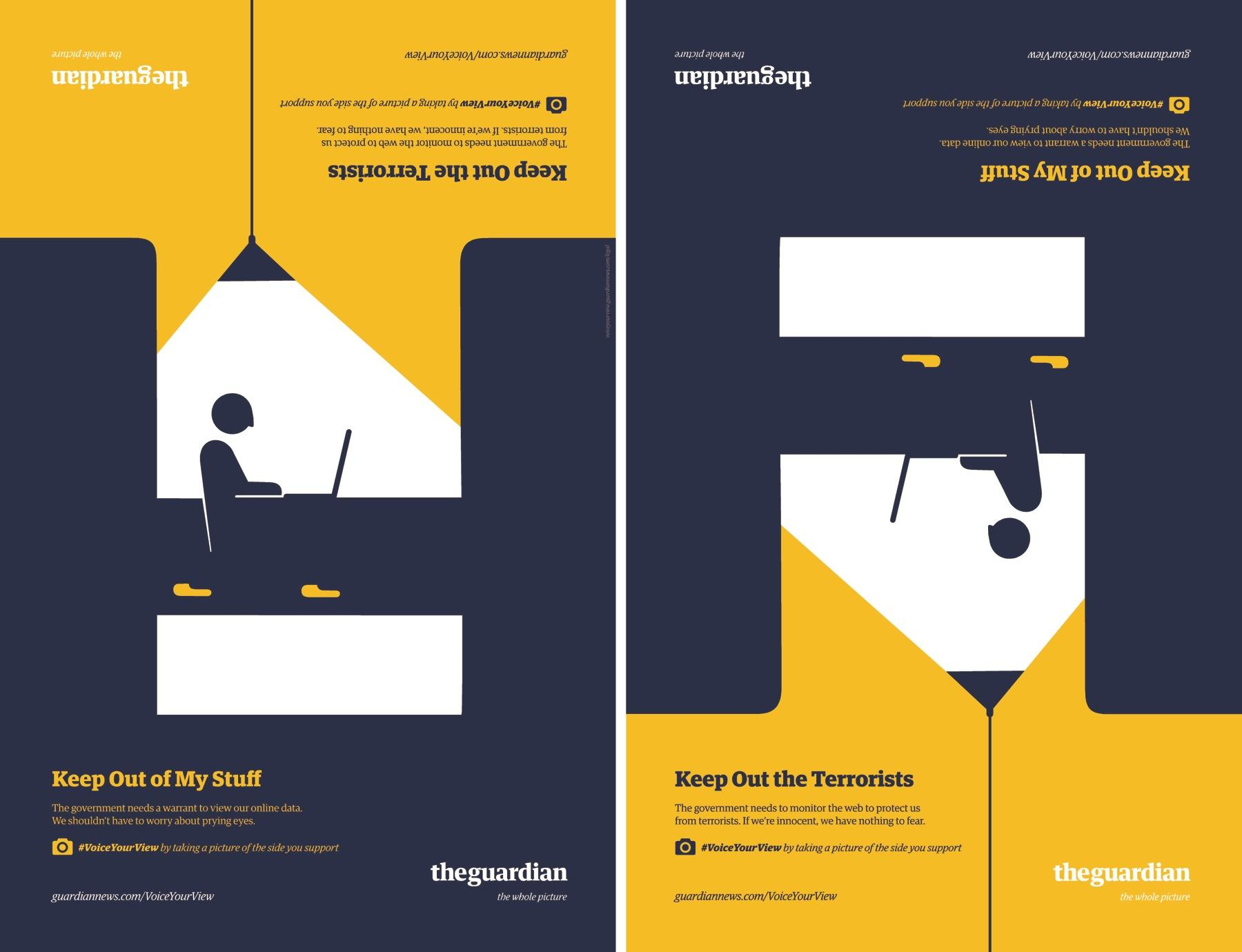 Guardian Outdoor Ad -  Internet privacy