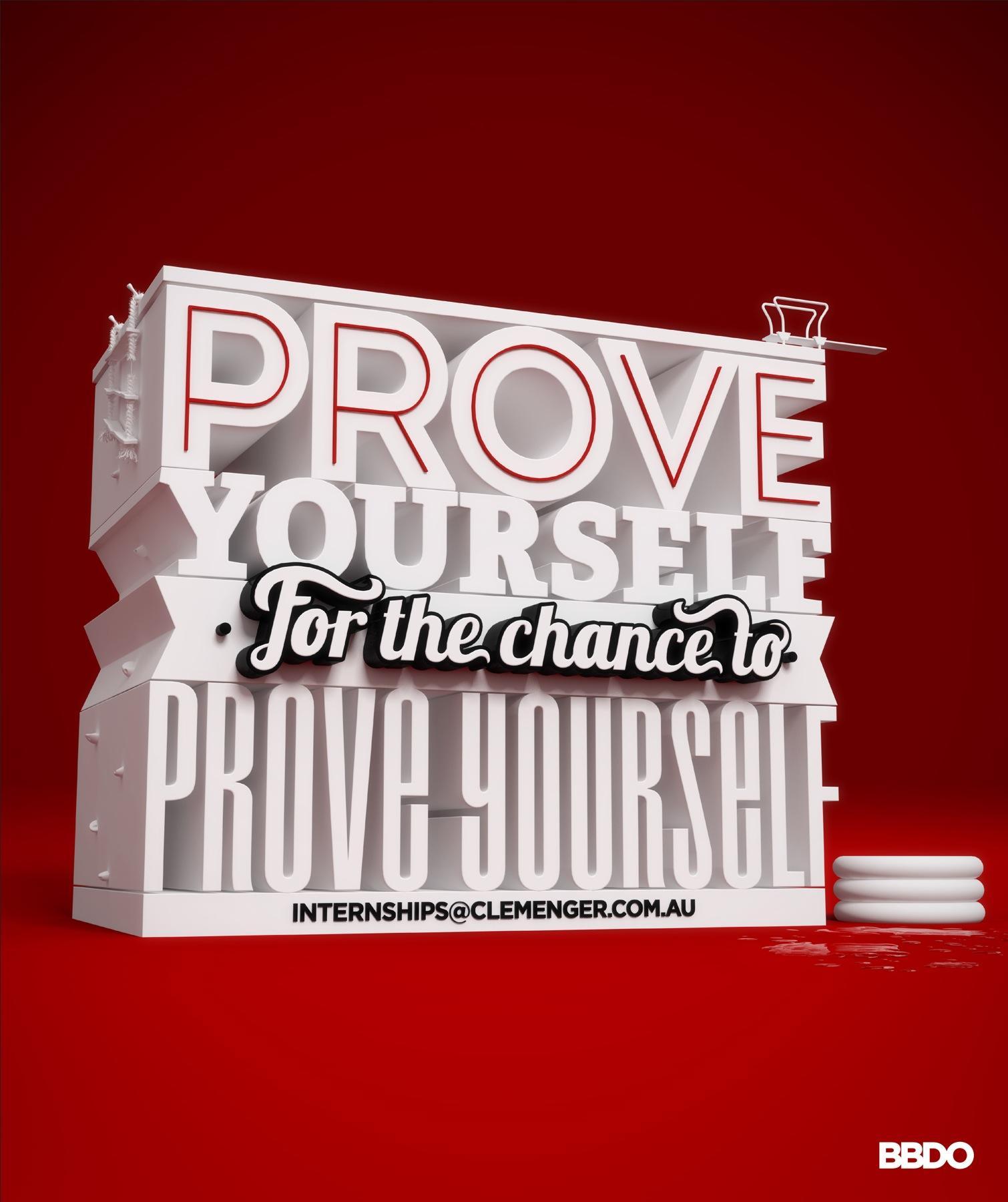 BBDO Print Ad -  Prove