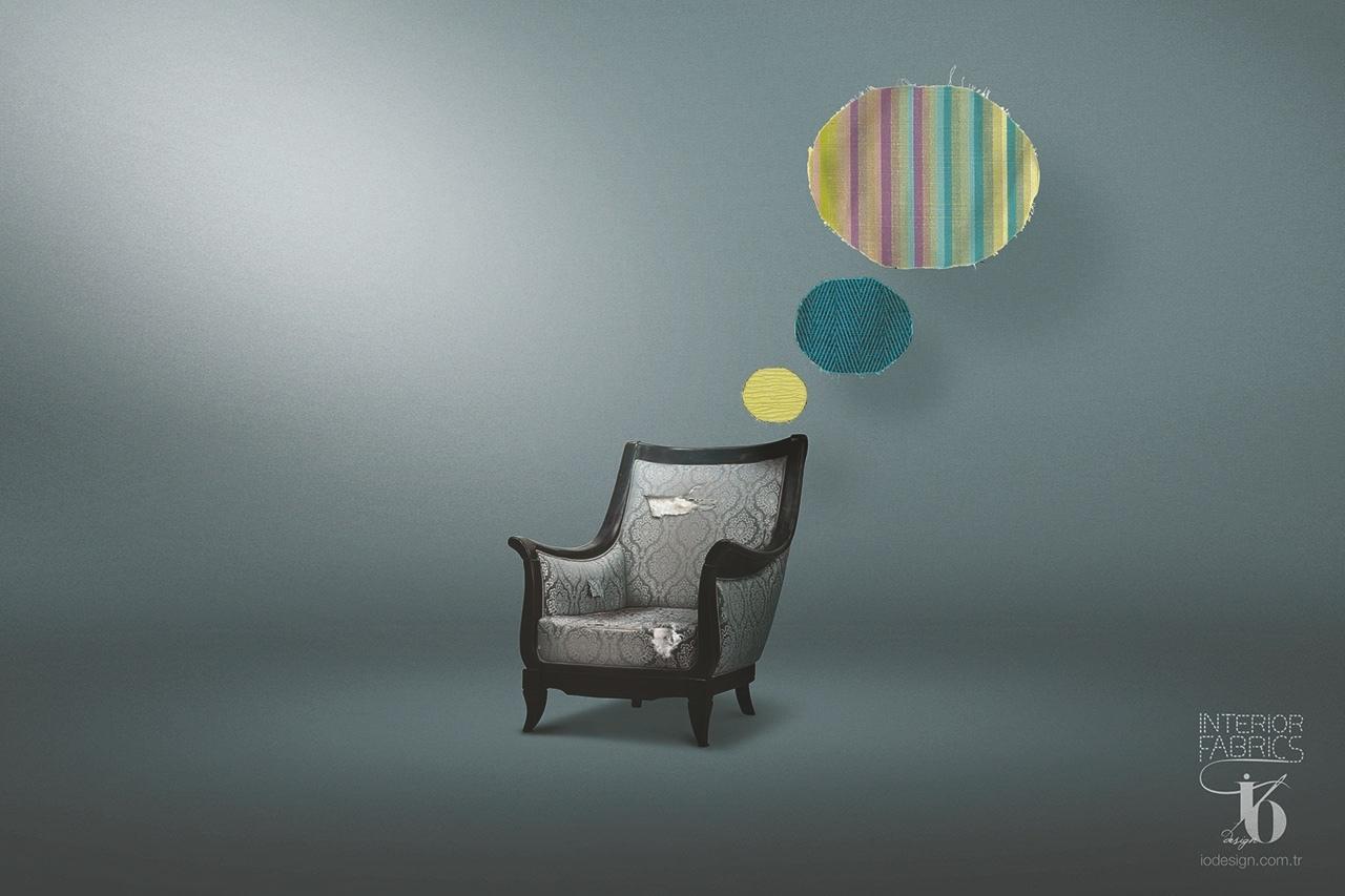 IO Design Print Ad -  Armchair