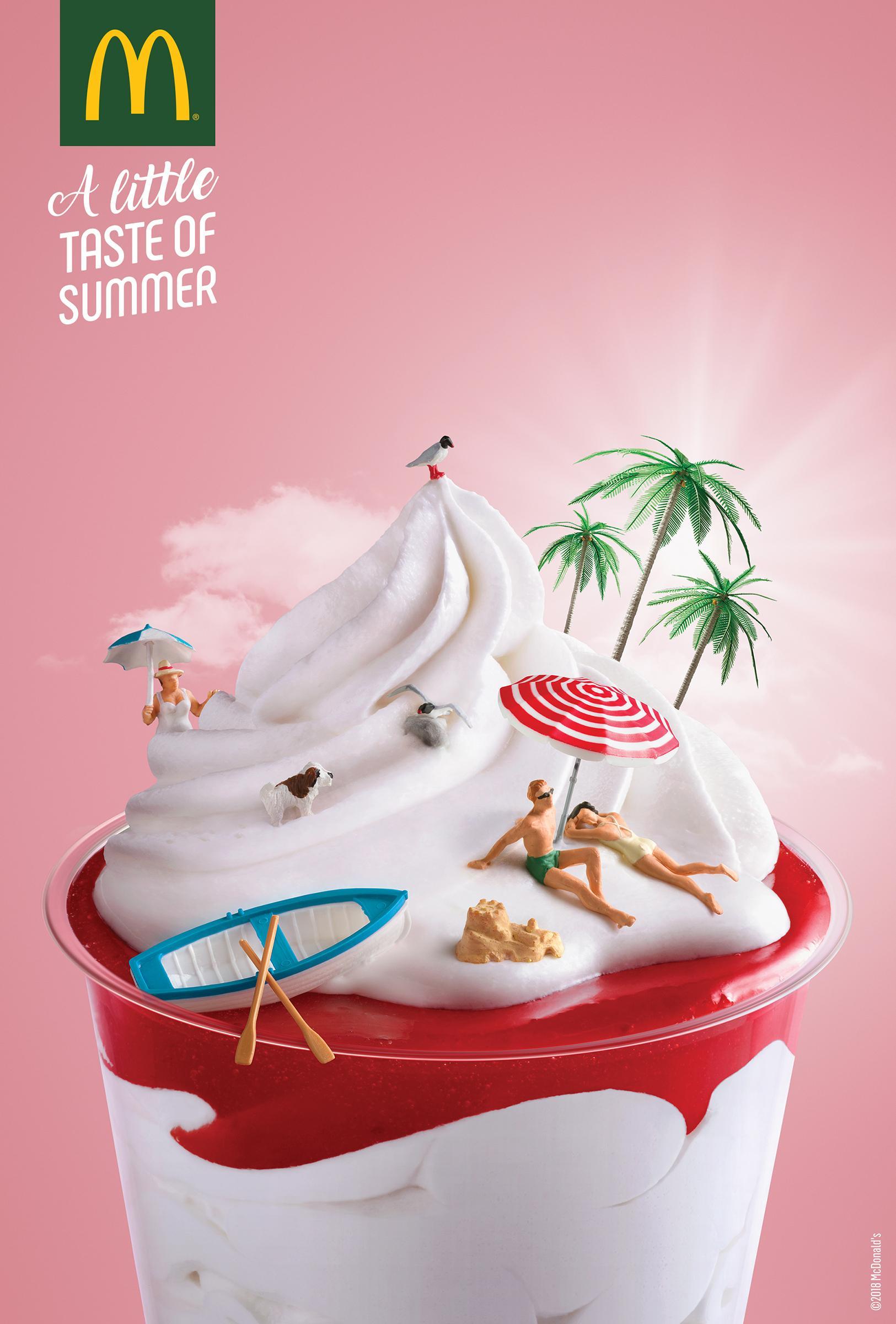 McDonald's Print Ad - Island