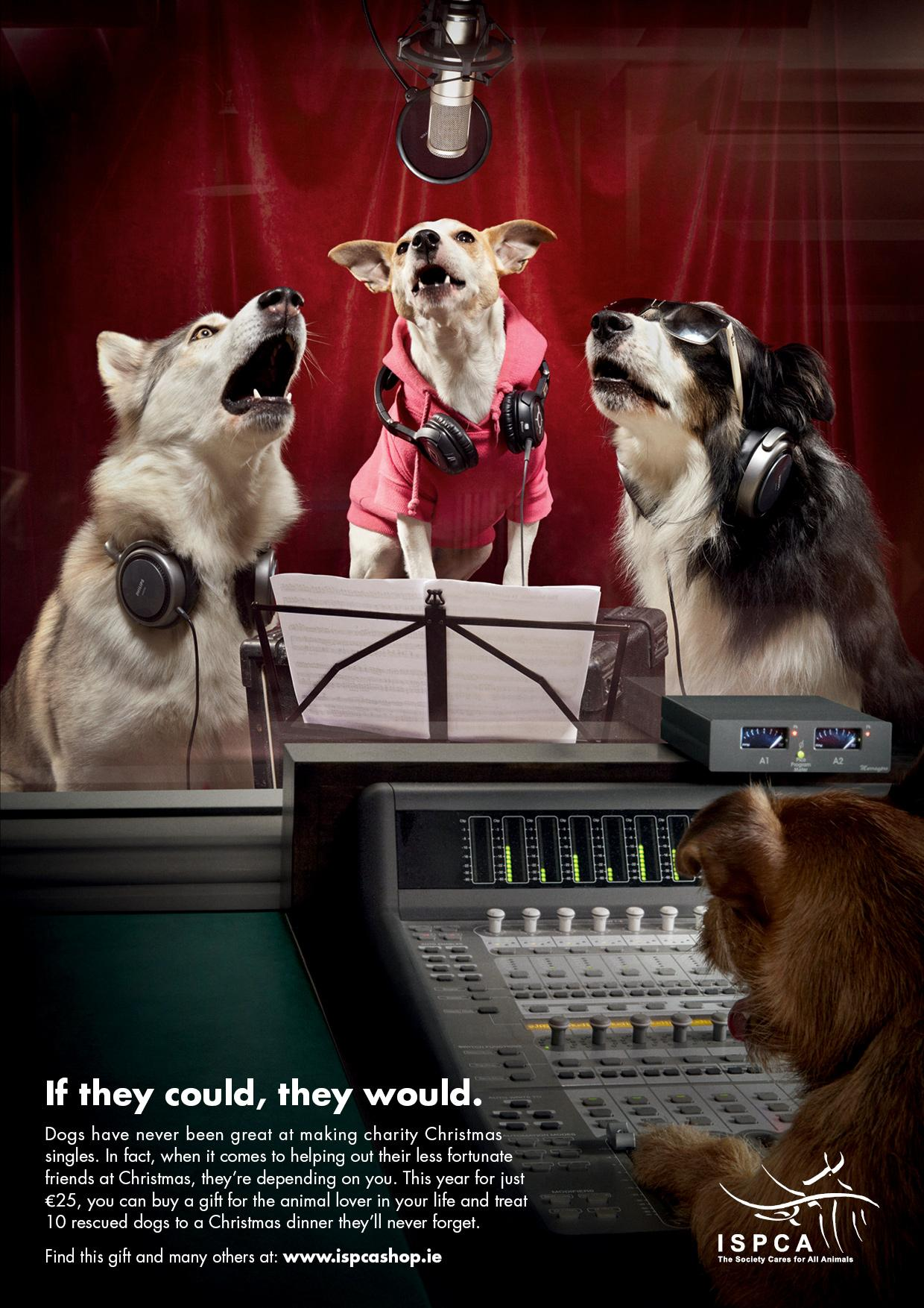 ISPCA Print Ad -  Christmas Single