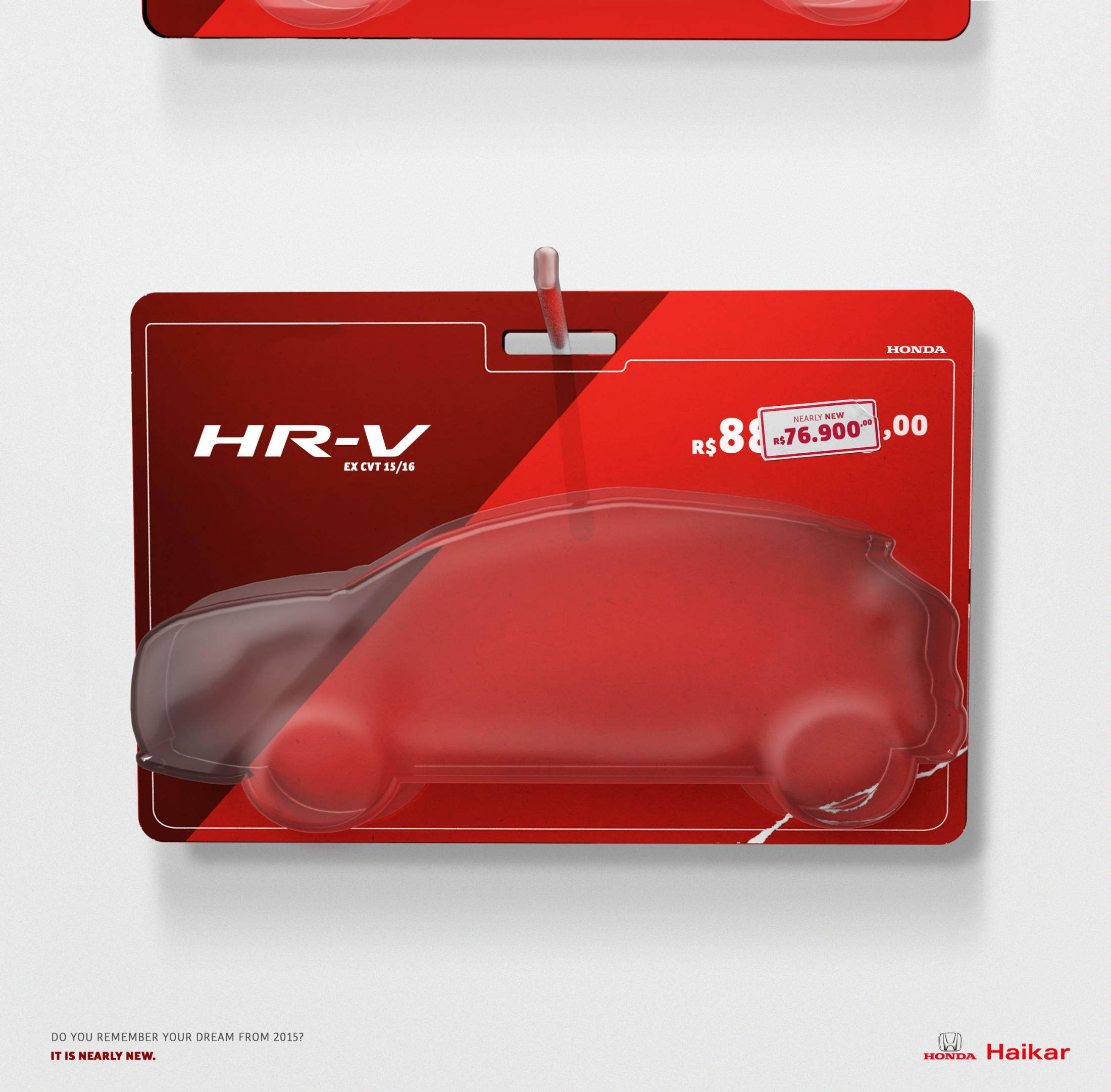 Honda Print Ad - It is nearly new