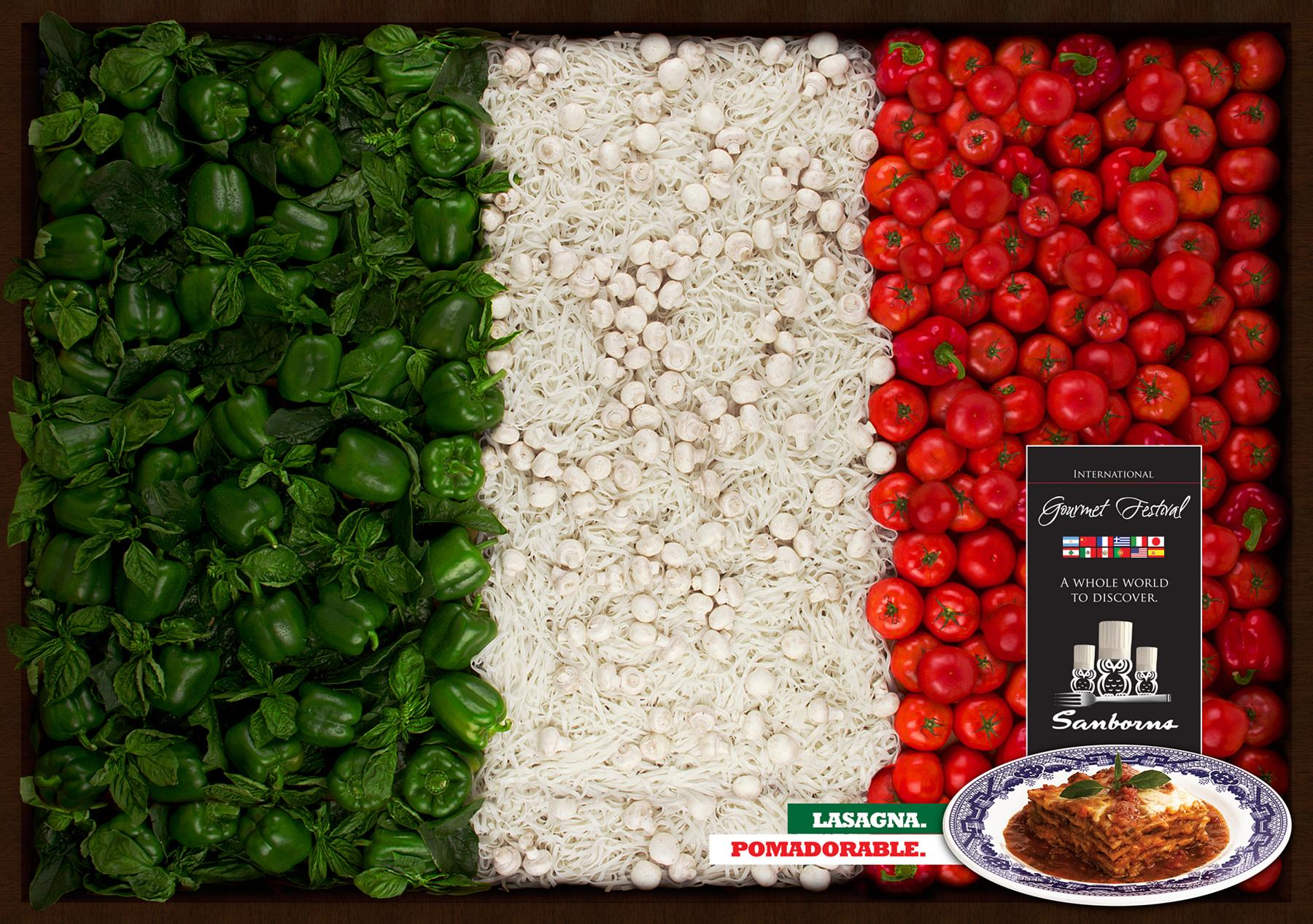 Sanborns Print Ad -  Italy