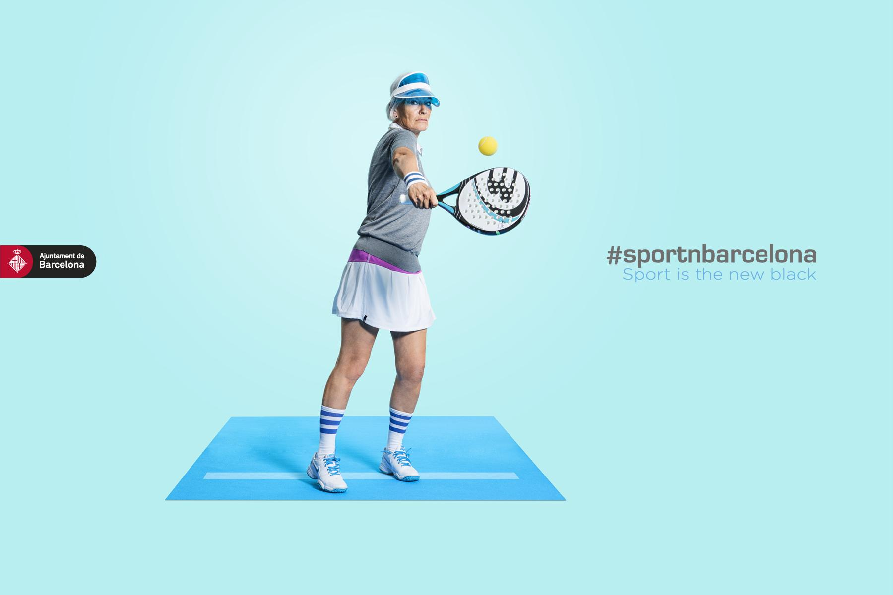 Barcelona City Council Print Ad -  #sportnbarcelona, 2