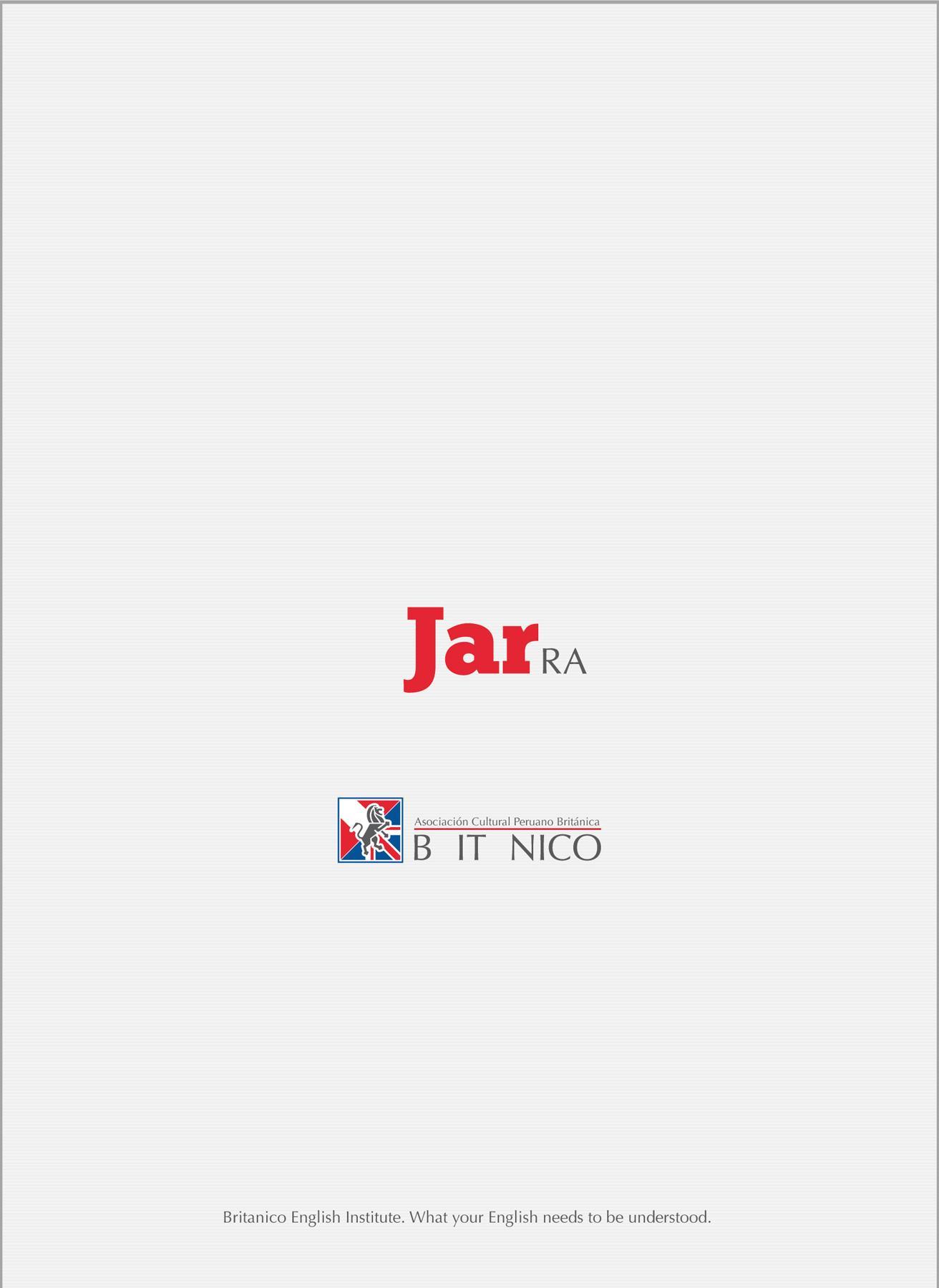 Británico Print Ad -  Jar