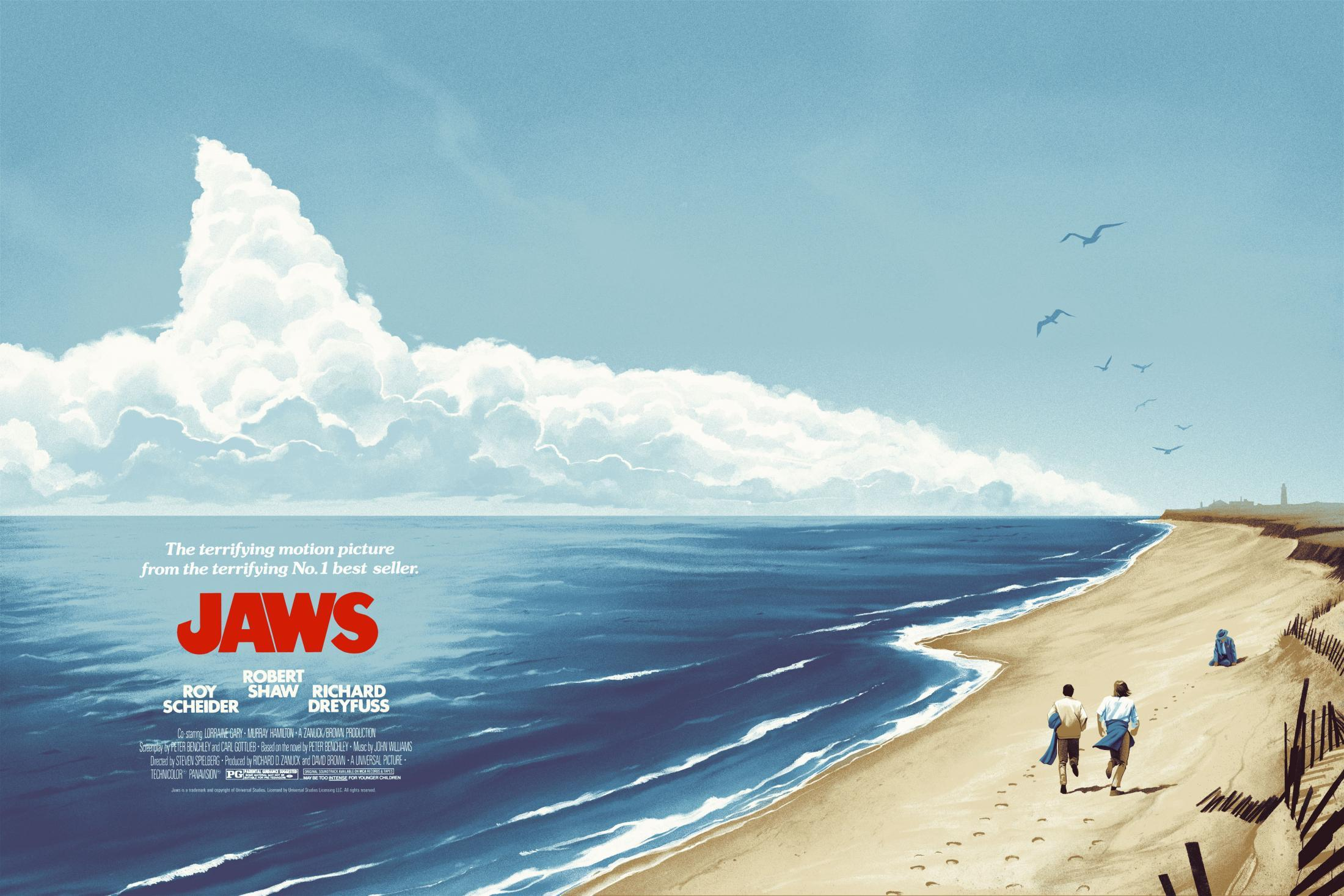 Jaws Print Ad - Jaws on the Water