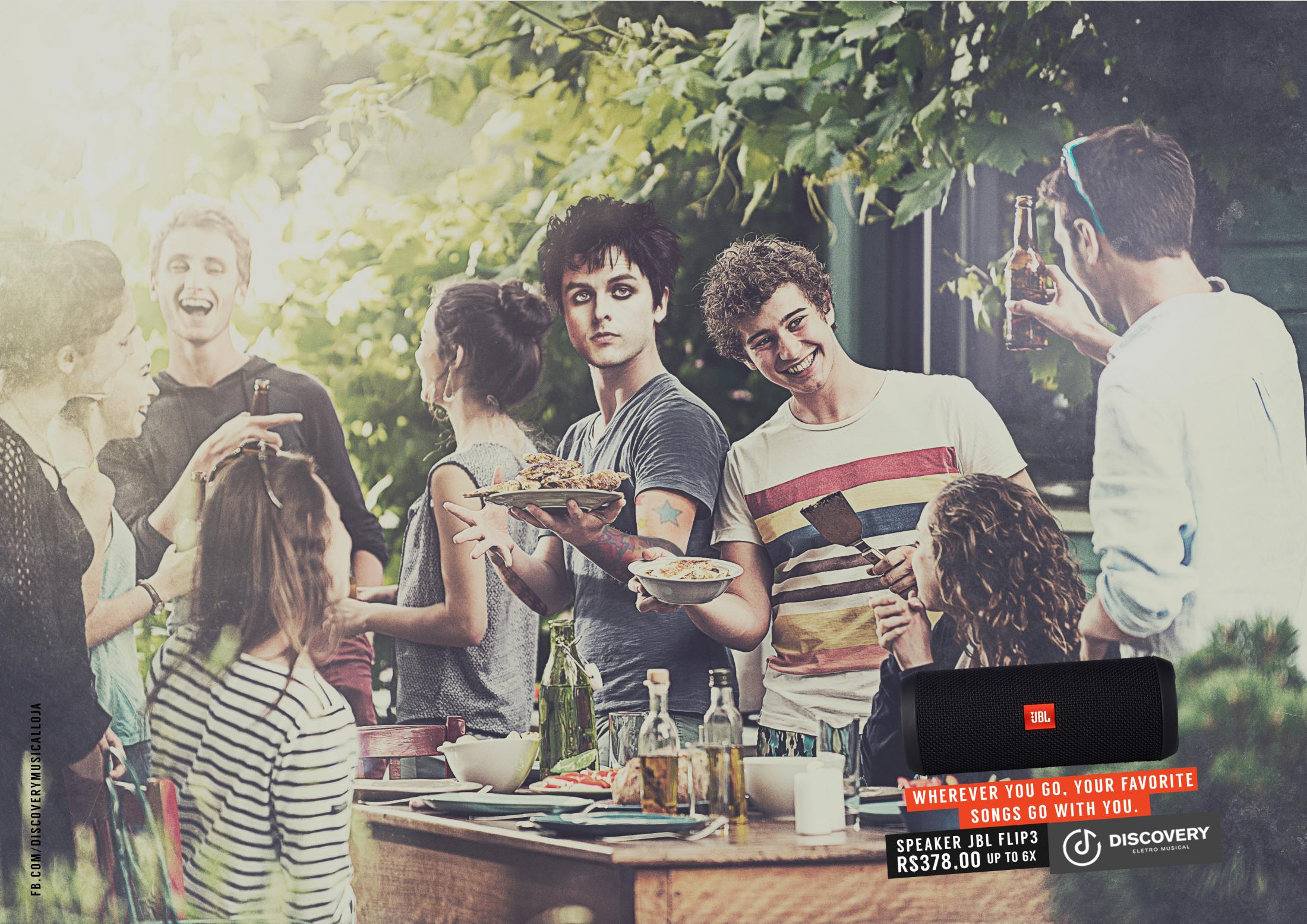 Discovery Electro Musical Print Ad - Wherever you go, Your favorite songs go with you, 1