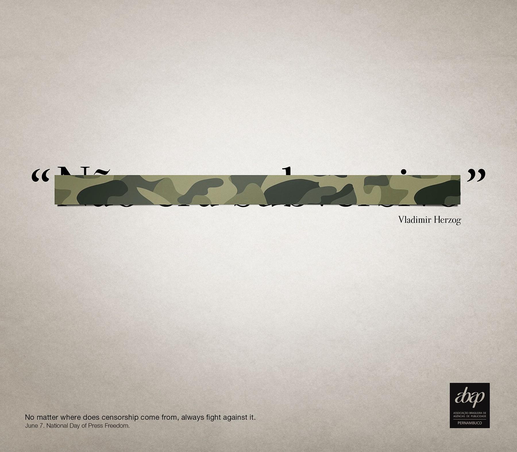 Abap Print Ad -  Vladimir Herzog