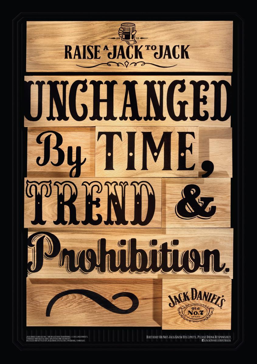 Jack Daniel's Outdoor Ad -  Unchanged