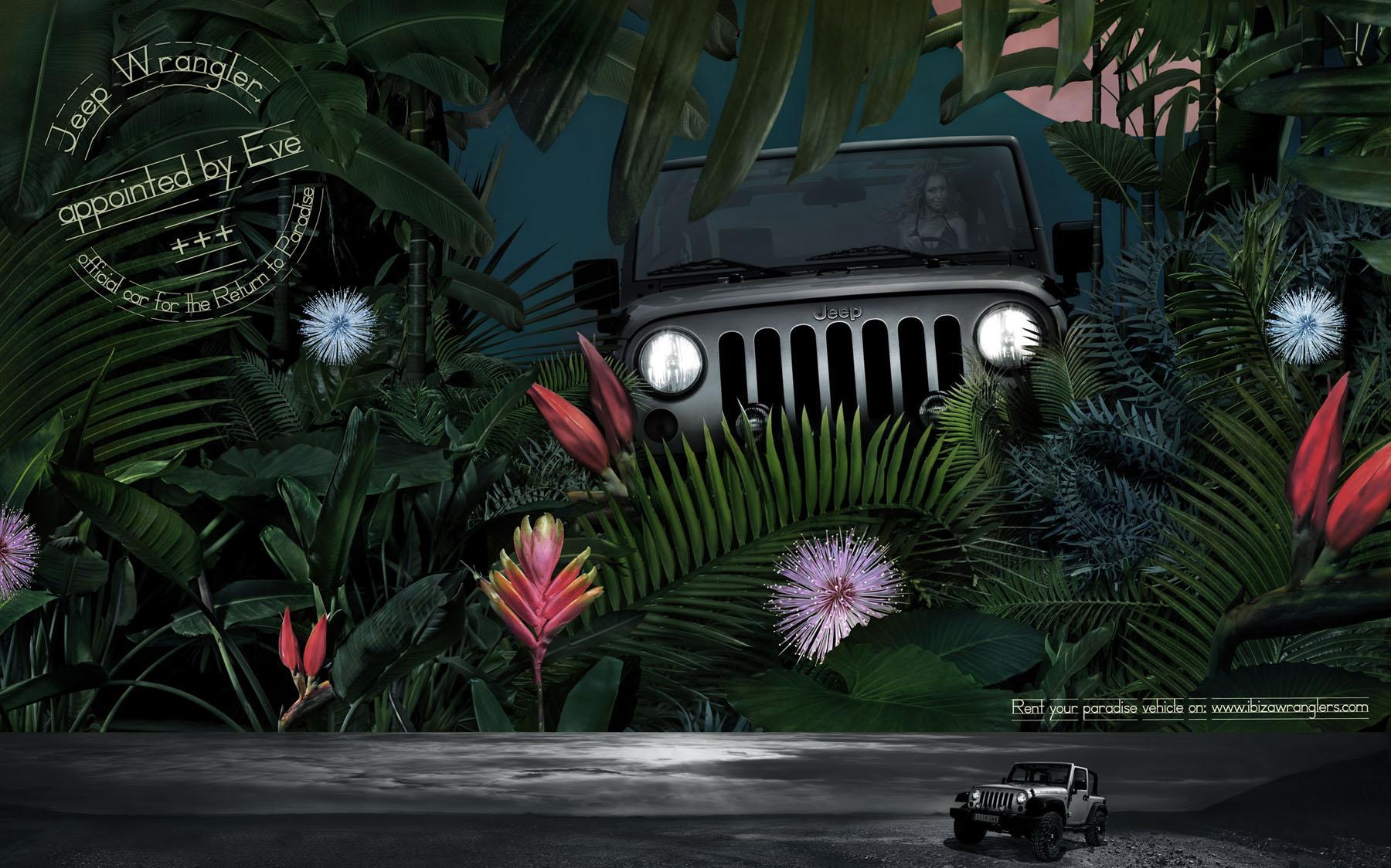Ibiza Wranglers Print Ad -  Return to Paradise