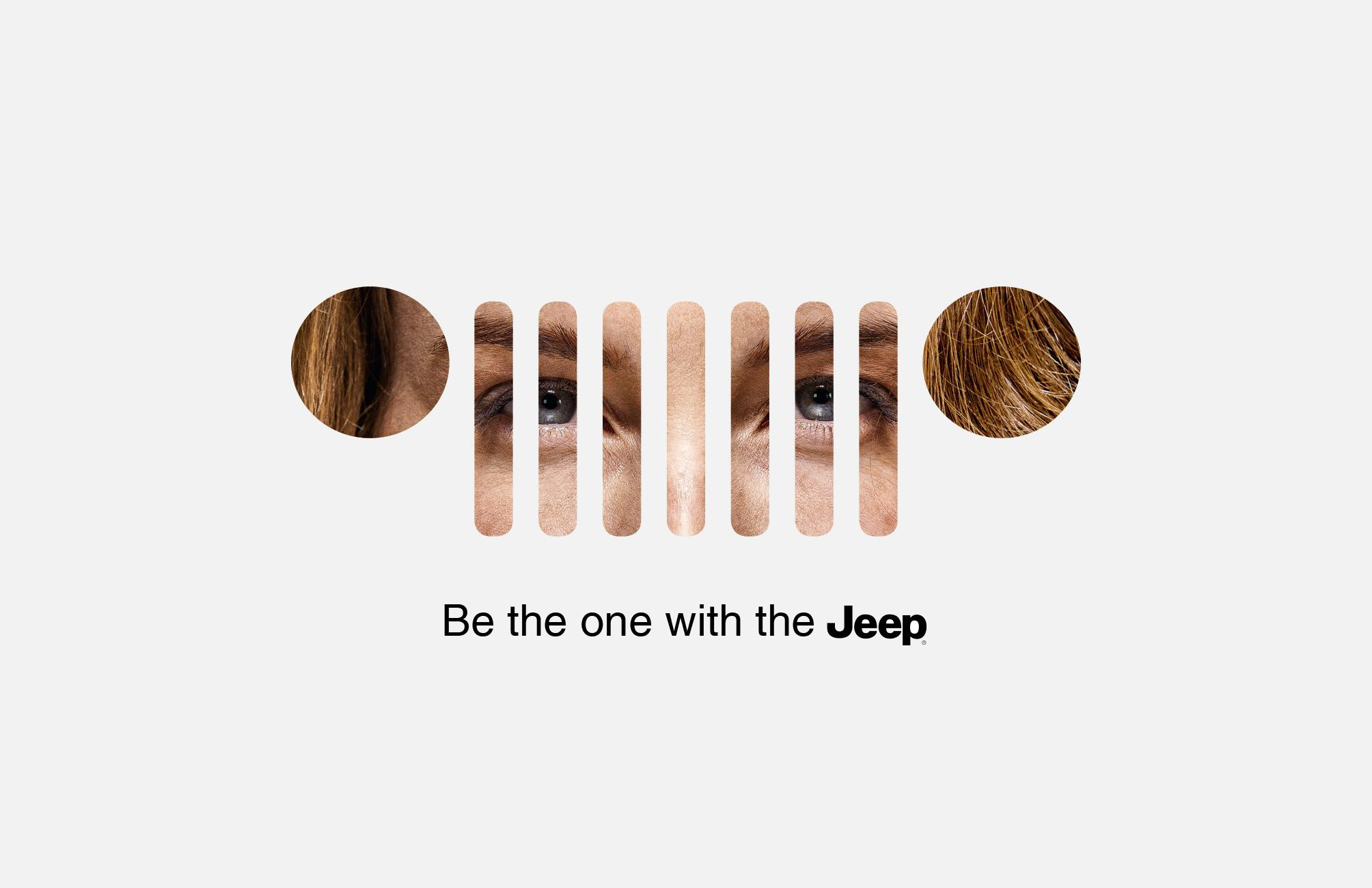 Jeep Outdoor Ad - Be the one, 2