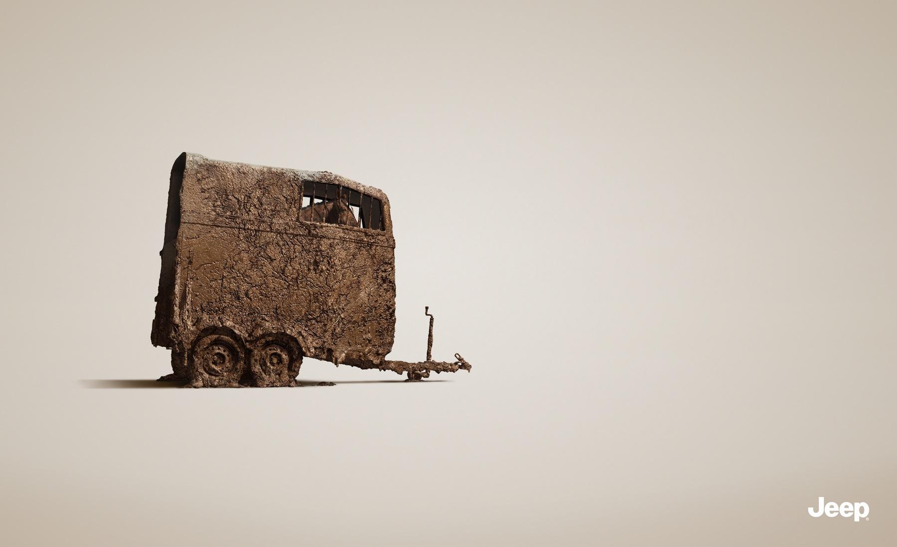 Jeep Print Ad -  Trailer, 2