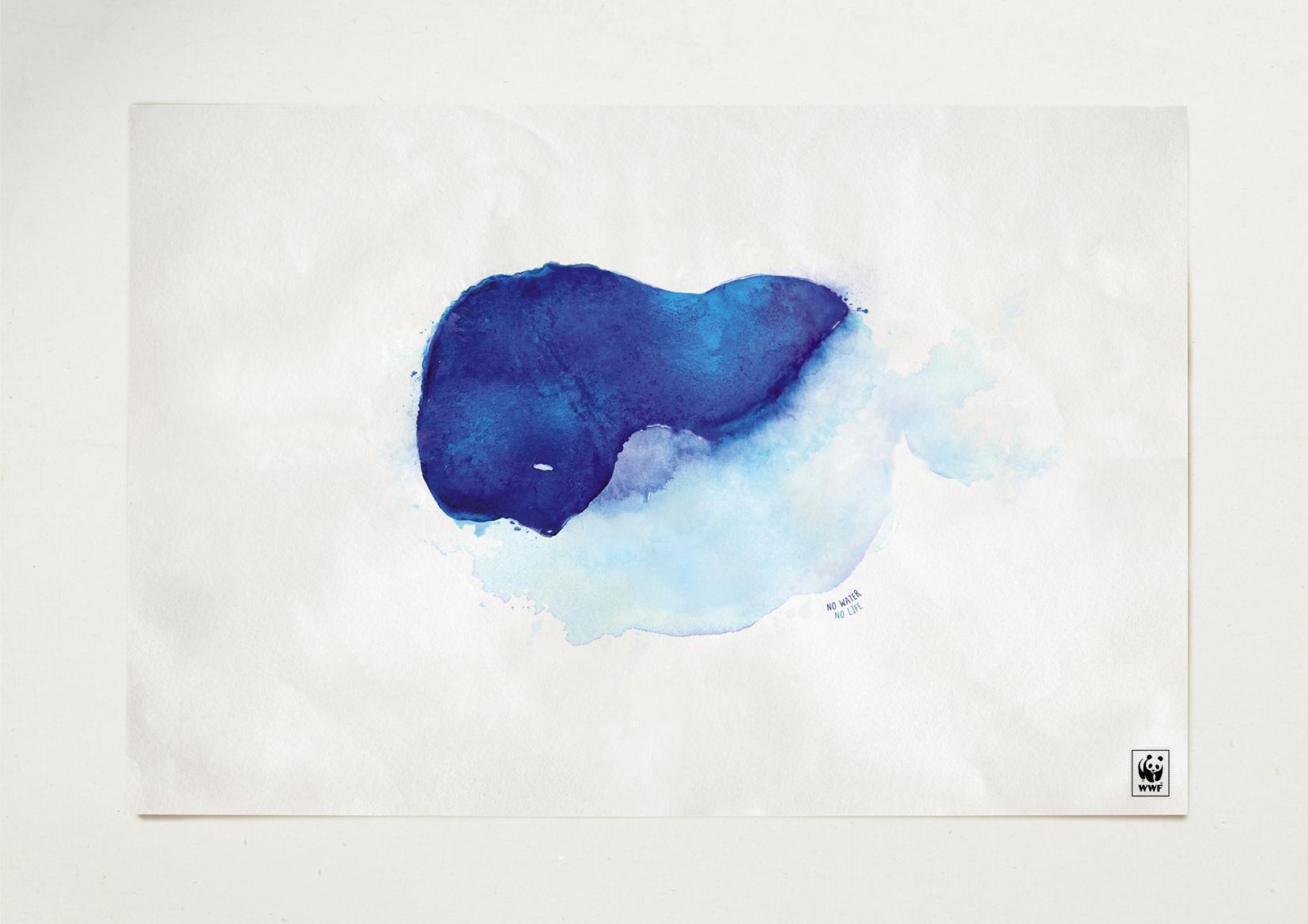 WWF Print Ad -  Whale