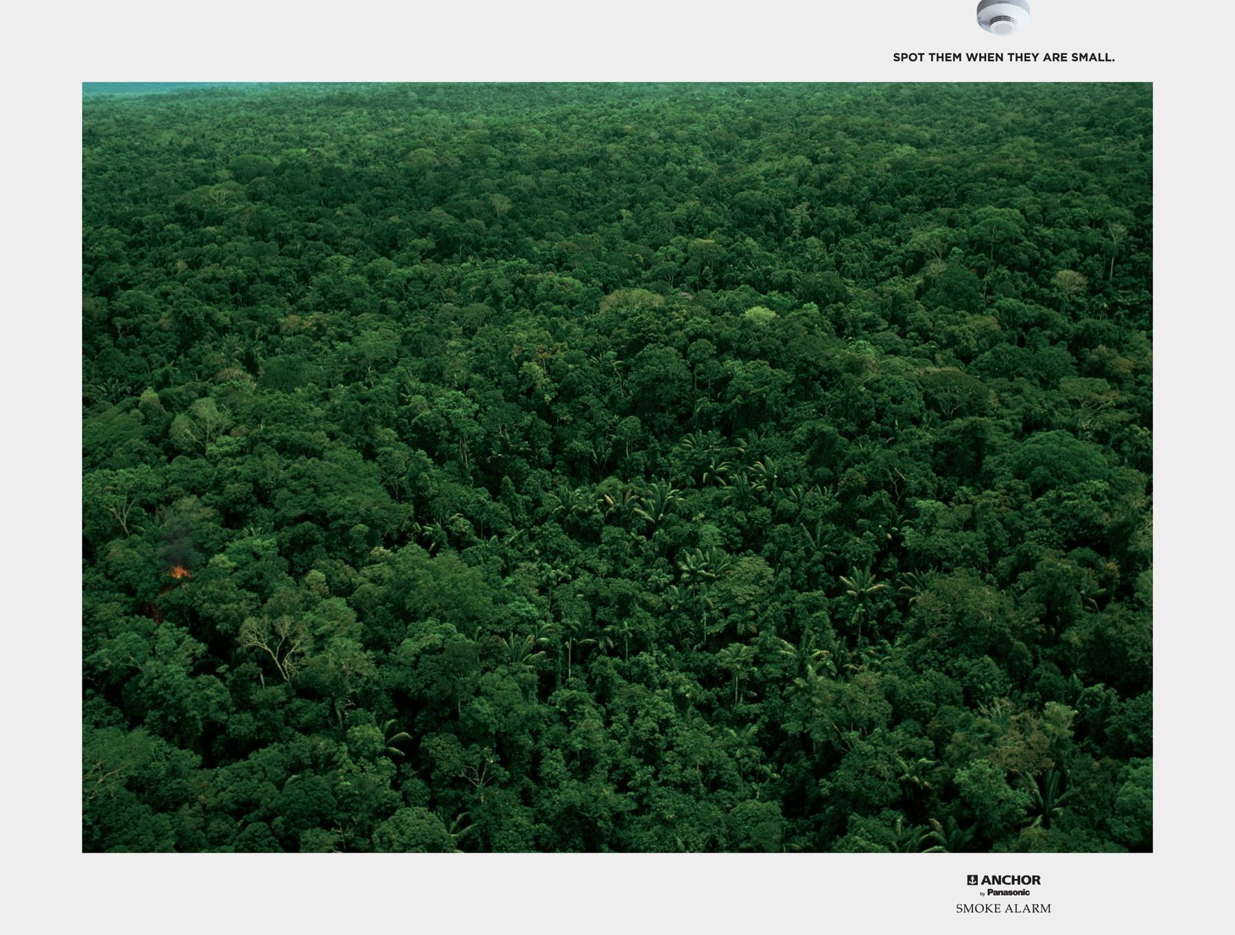 Panasonic Print Ad -  Jungle, 3