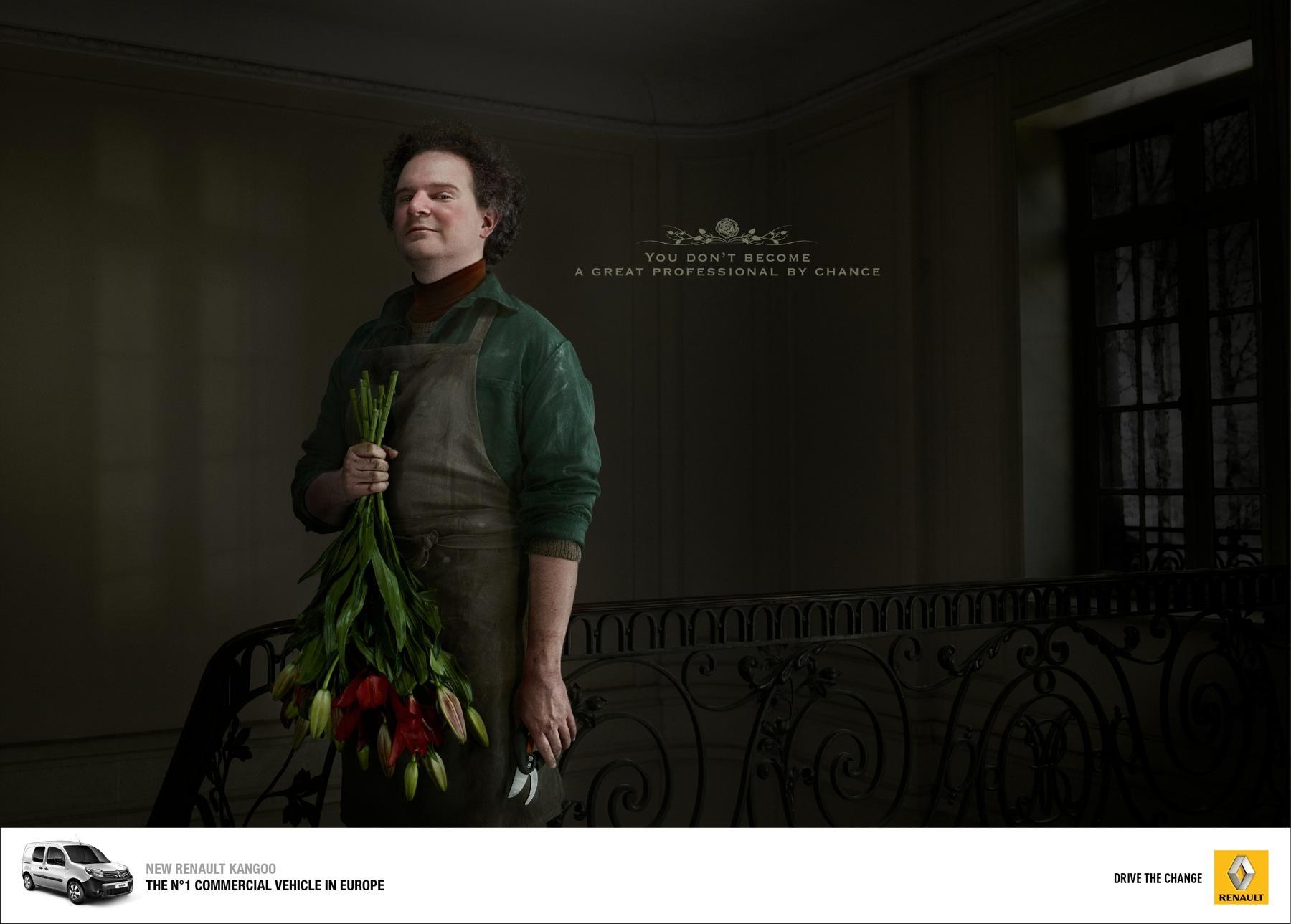 Renault Print Ad -  Professional, 3