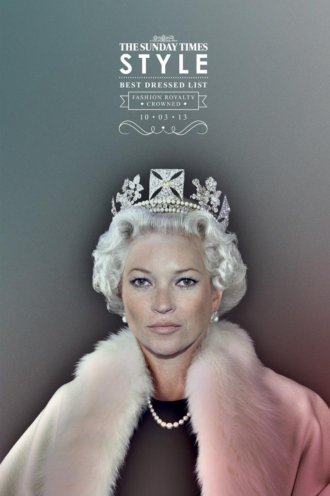 The Sunday Times Print Ad -  Fashion Royalty Kate