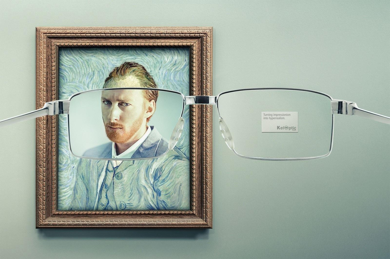 Keloptic Print Ad -  Impressionism, 2