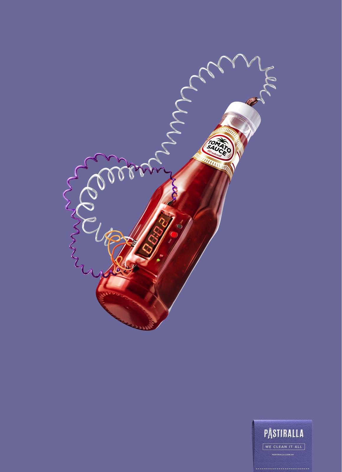 Pastiralla Print Ad - Ketchup