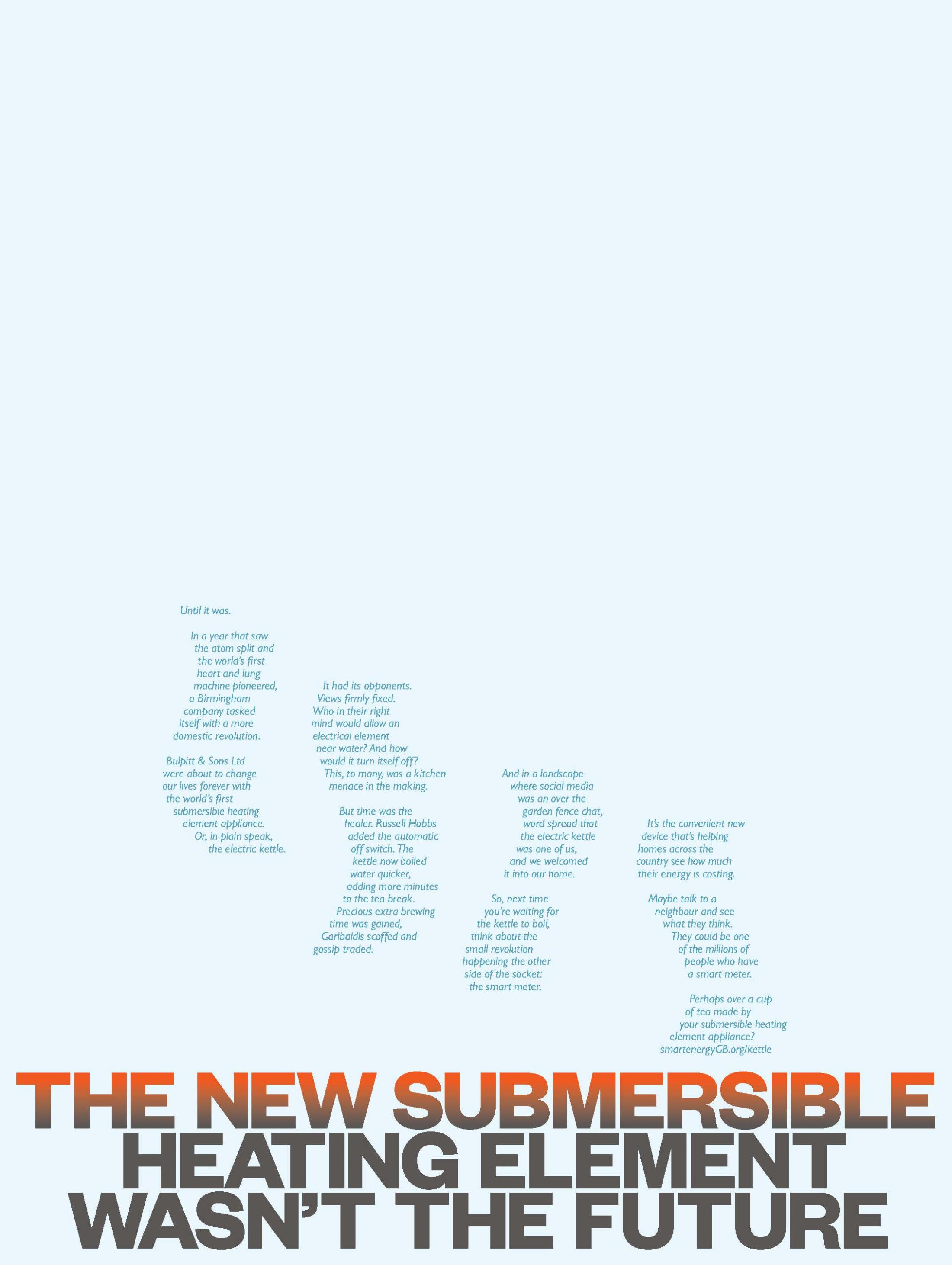 Smart Energy Print Ad - The New Ordinary - Kettle