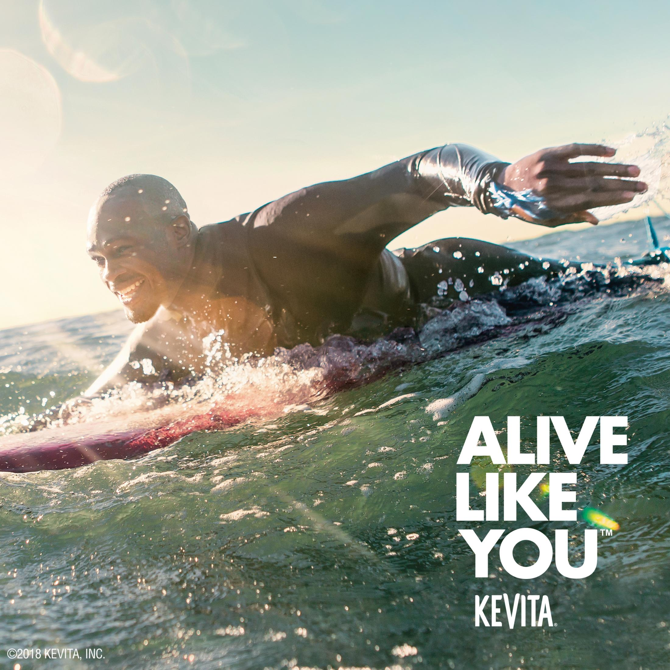 KeVita Outdoor Ad - Alive Like You, 1