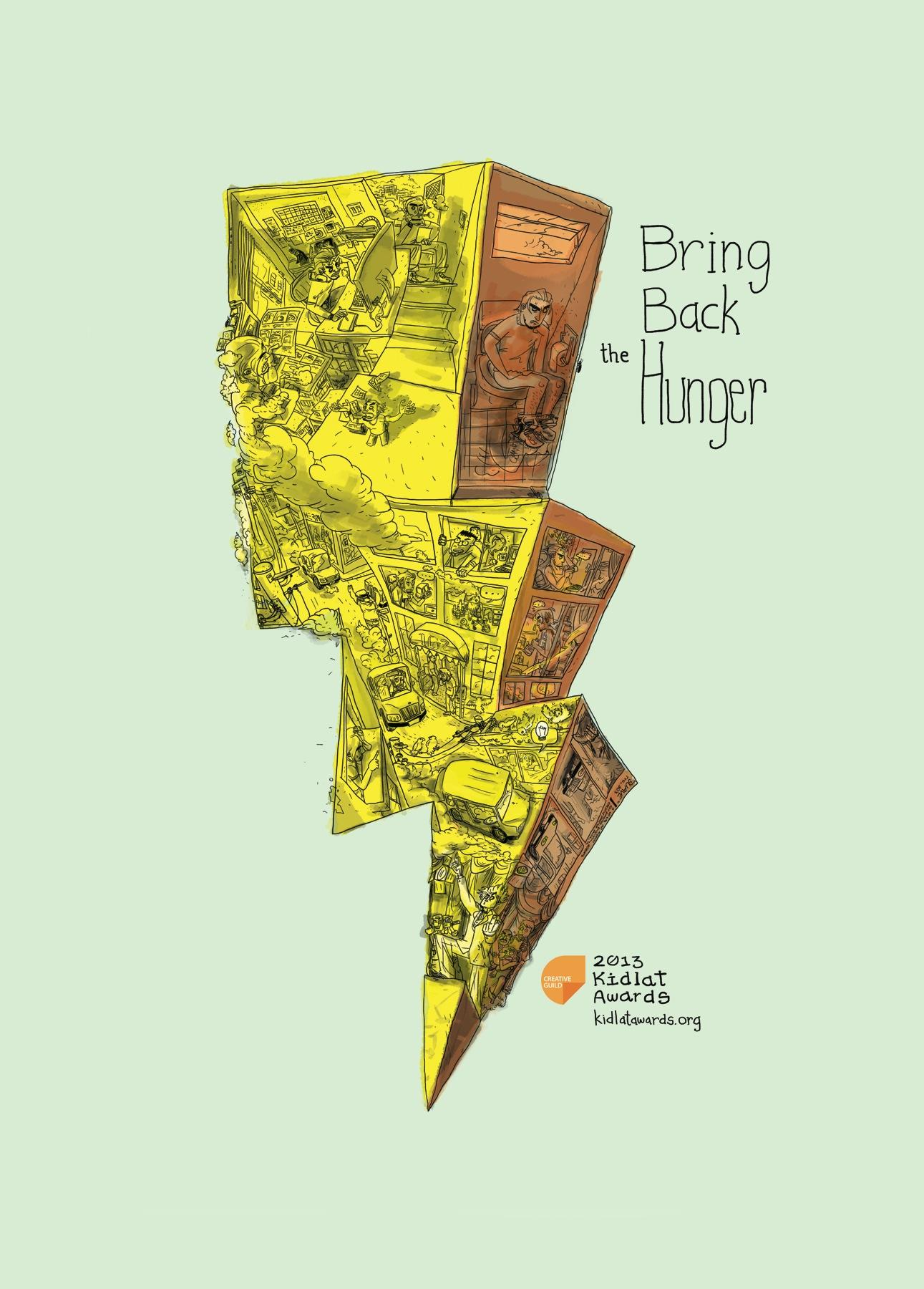 Creative Guild of the Philippines Print Ad -  Bring back the hunger, 3