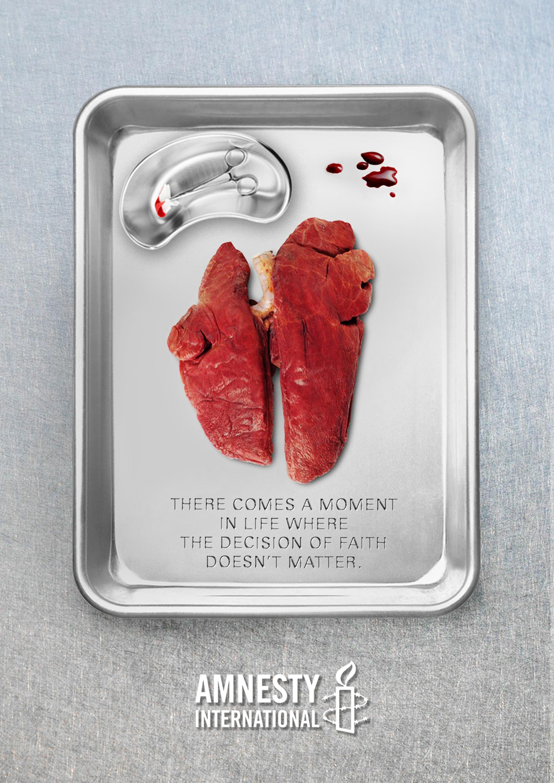 Amnesty International Print Ad - Kidney