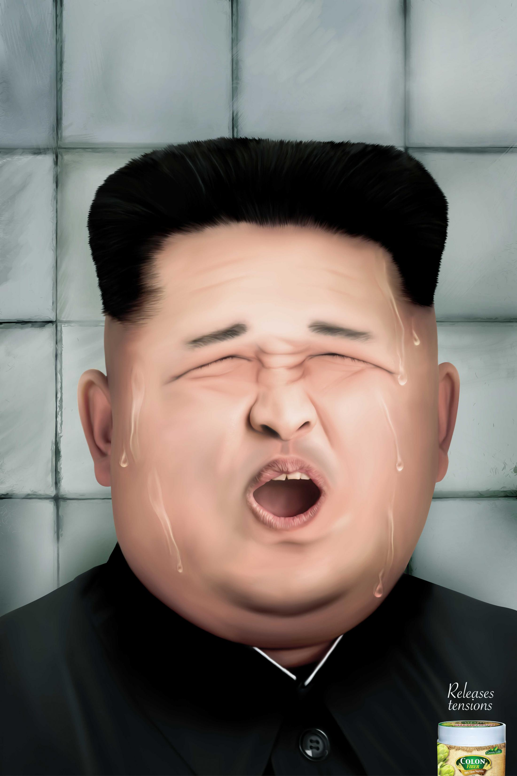 Fiber Colon Print Ad - Releases Tensions - Kim