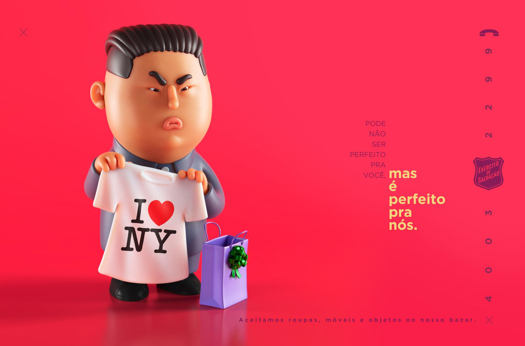 Salvation Army Print Ad - Unwanted Gifts  - Kim Jong-Un