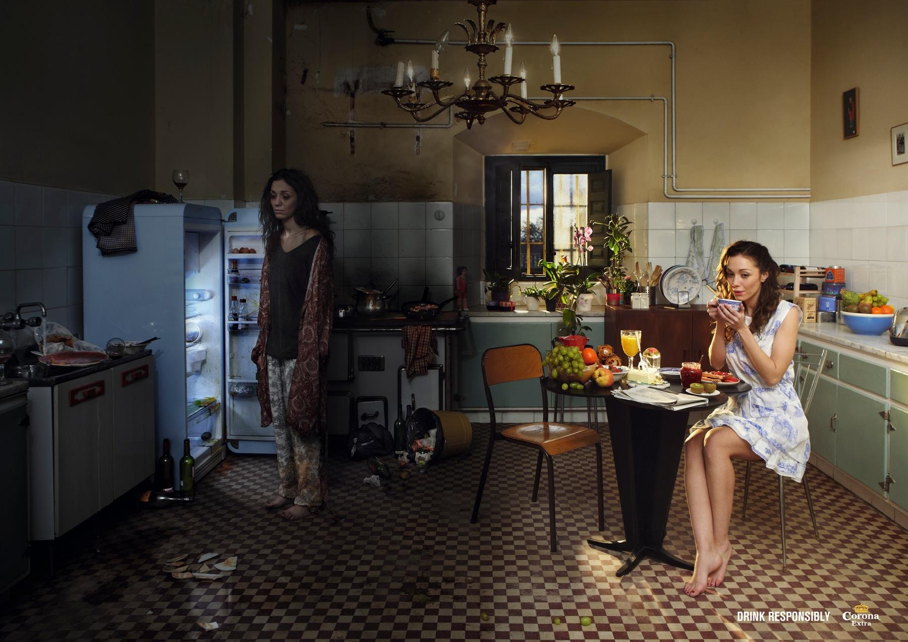 Corona Beer Print Ad -  Kitchen