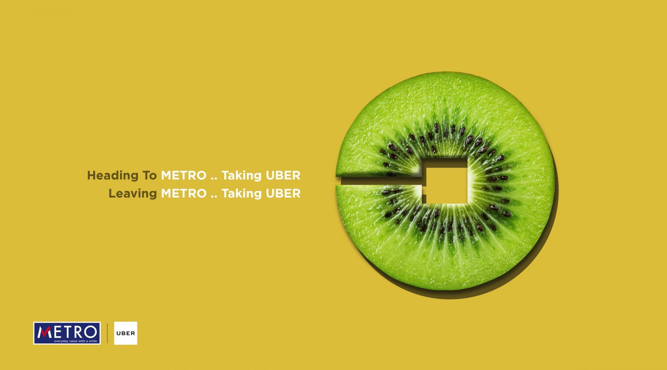 Metro Print Ad - Kiwi