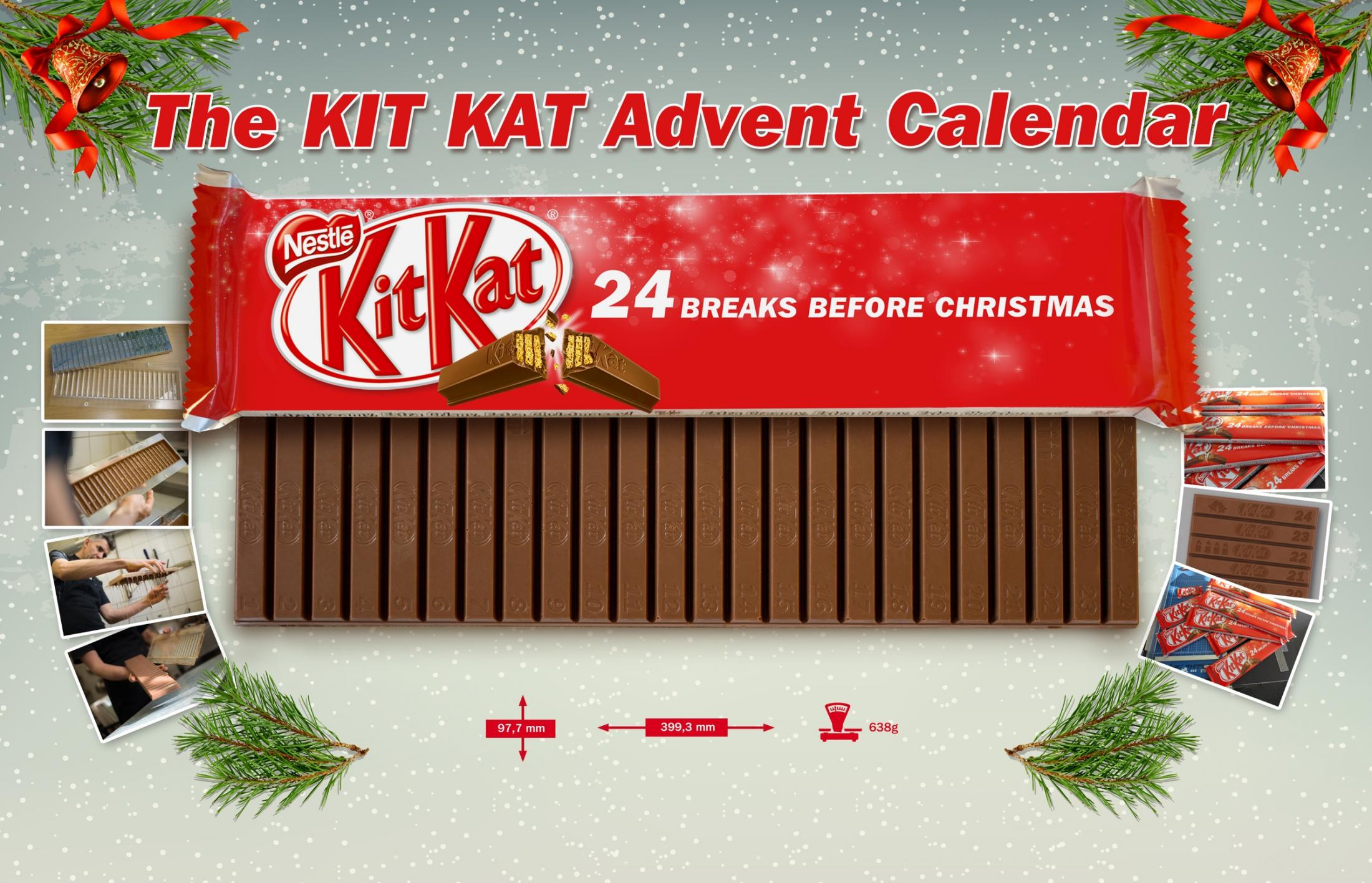 Kit Kat Direct Ad -  Kit Kat Advent Calendar