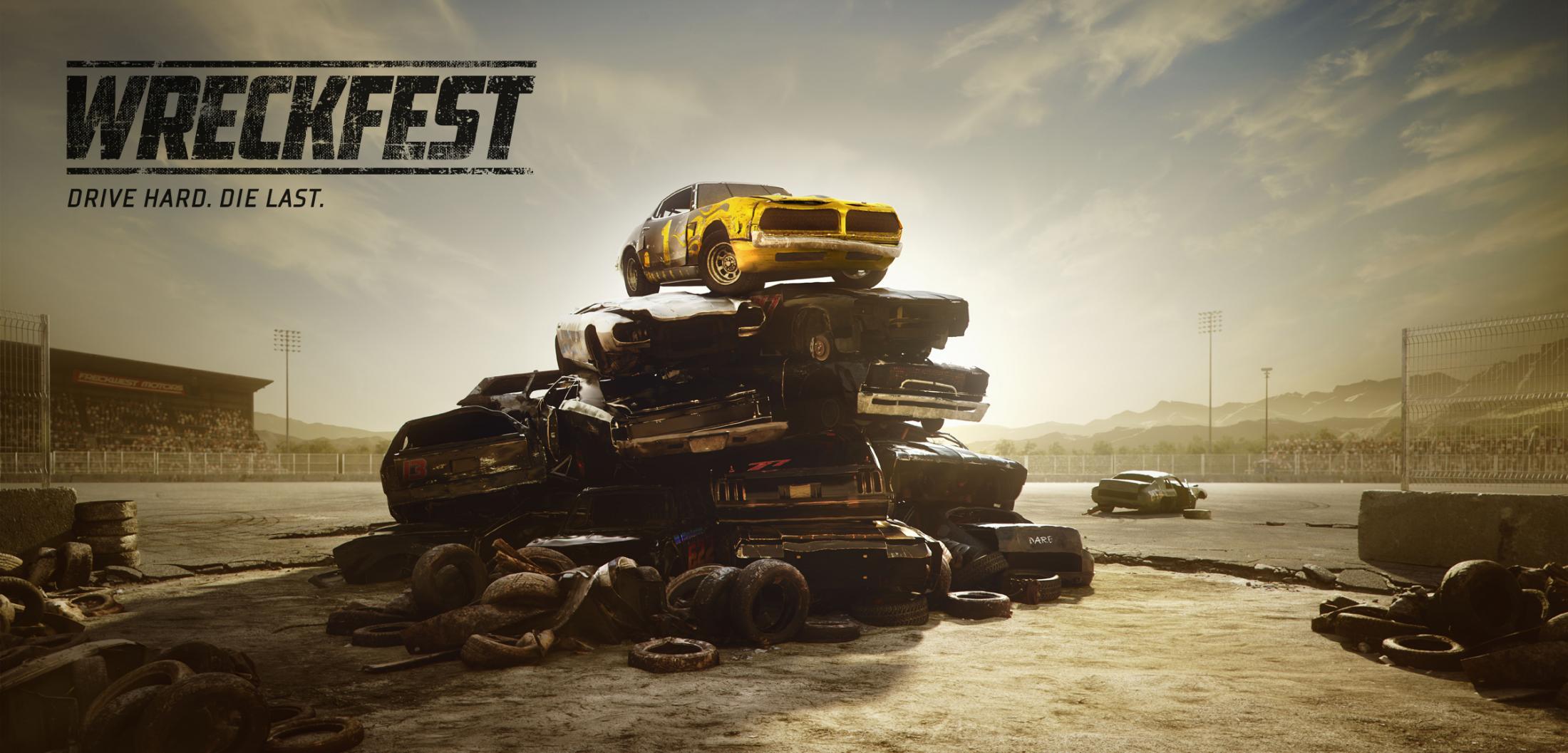 Wreckfest Digital Ad - Drive hard. Die last.