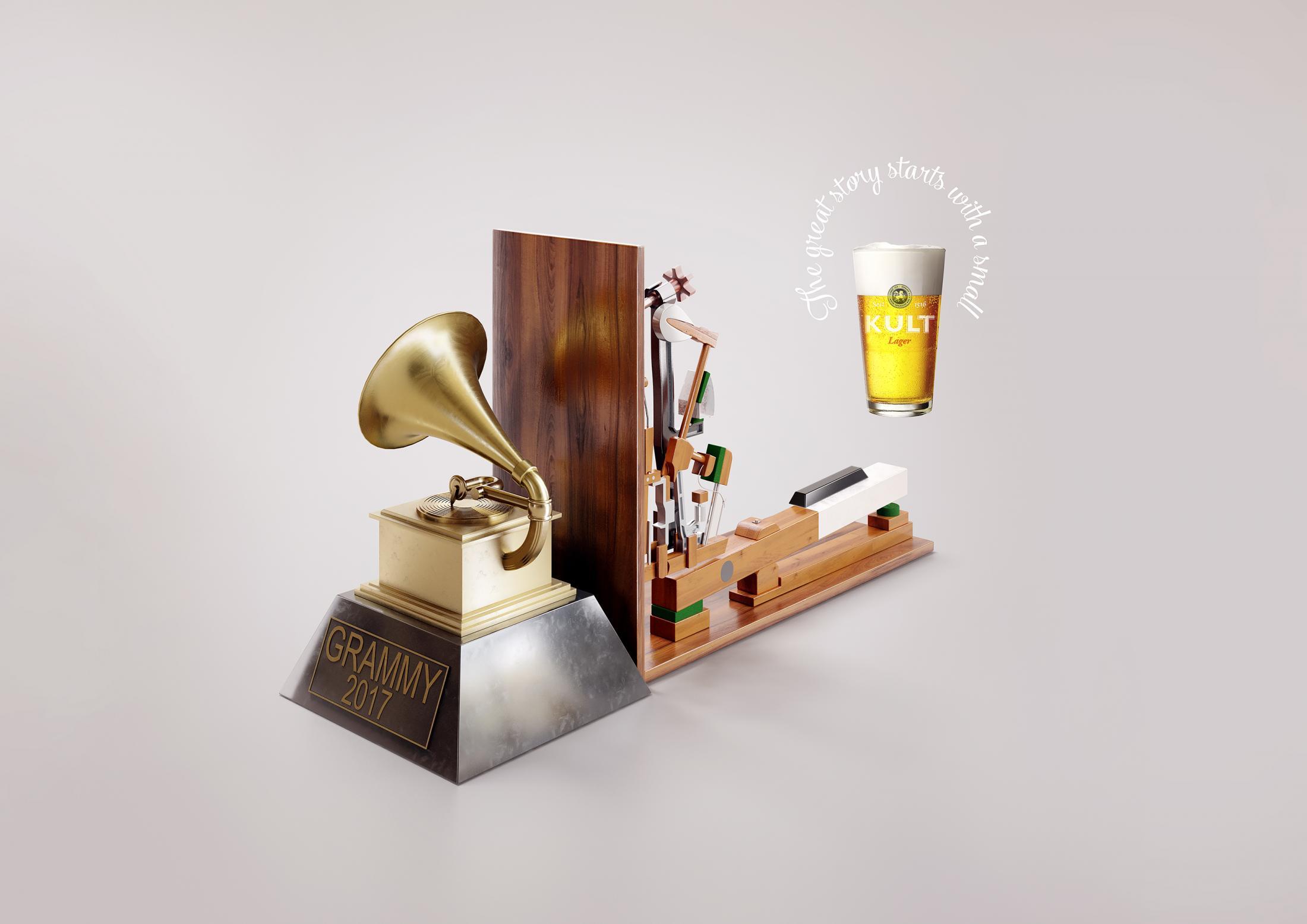 Kult Print Ad - Kult Grammy