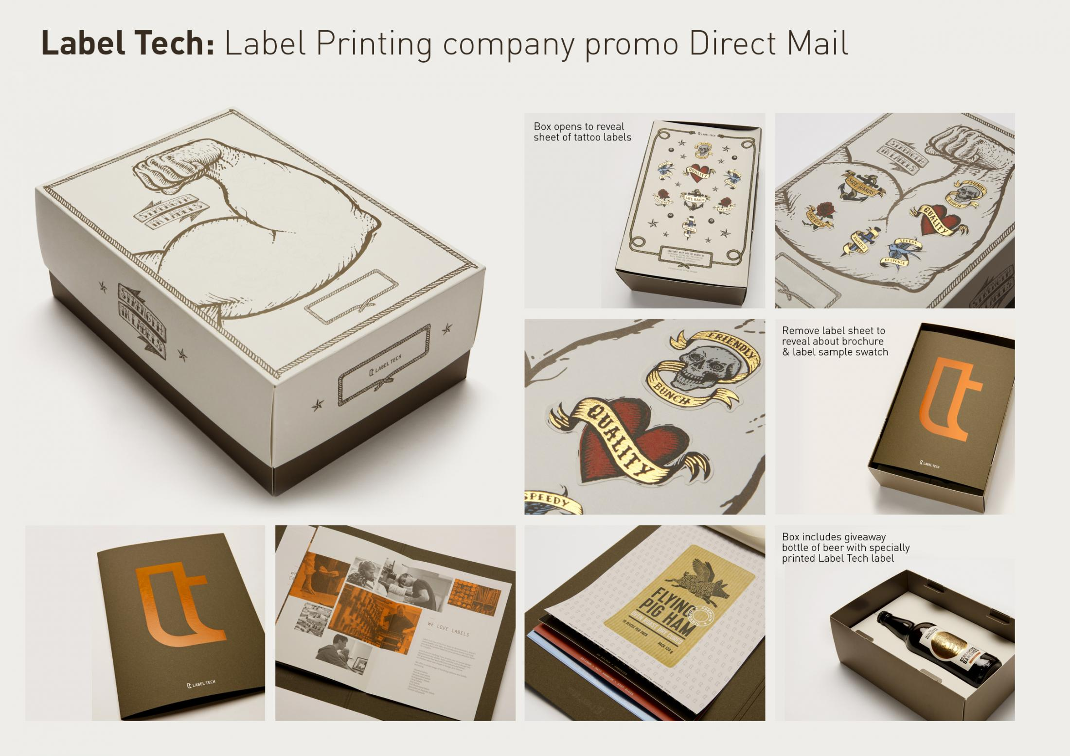 Label Tech Direct Ad - Strength in labels