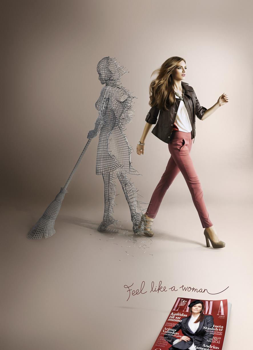 Laima Print Ad -  Women