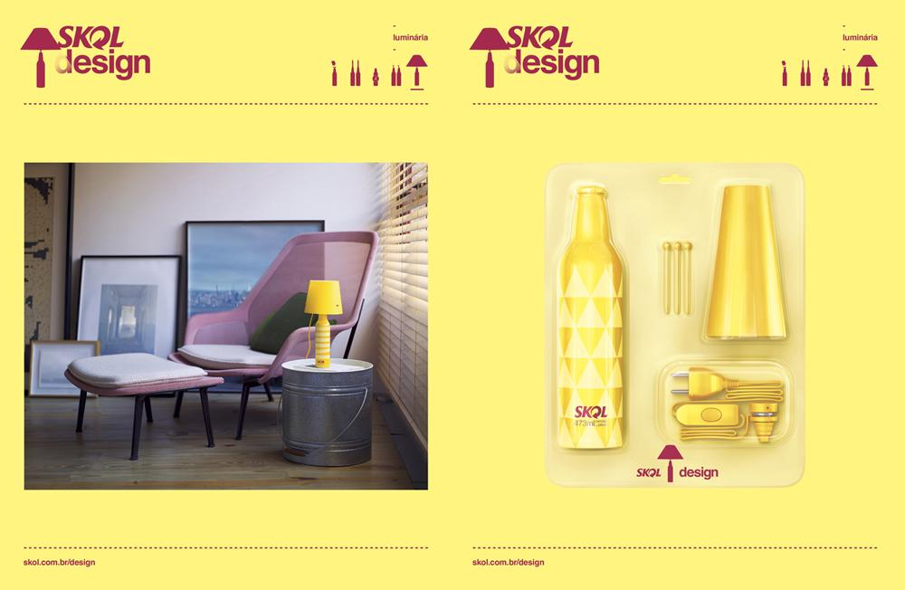 Skol Direct Ad -  Lamp