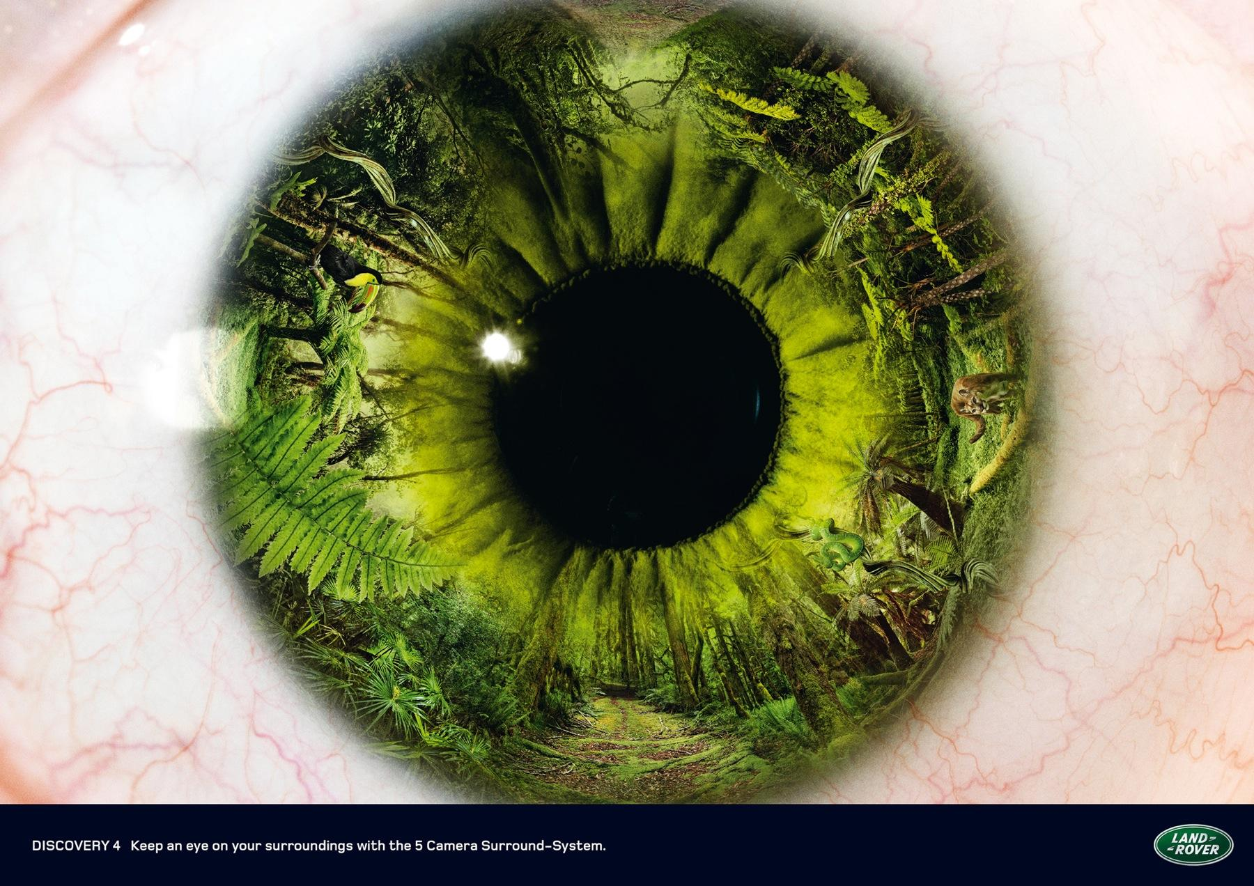 Land Rover Print Ad -  Eye, 1